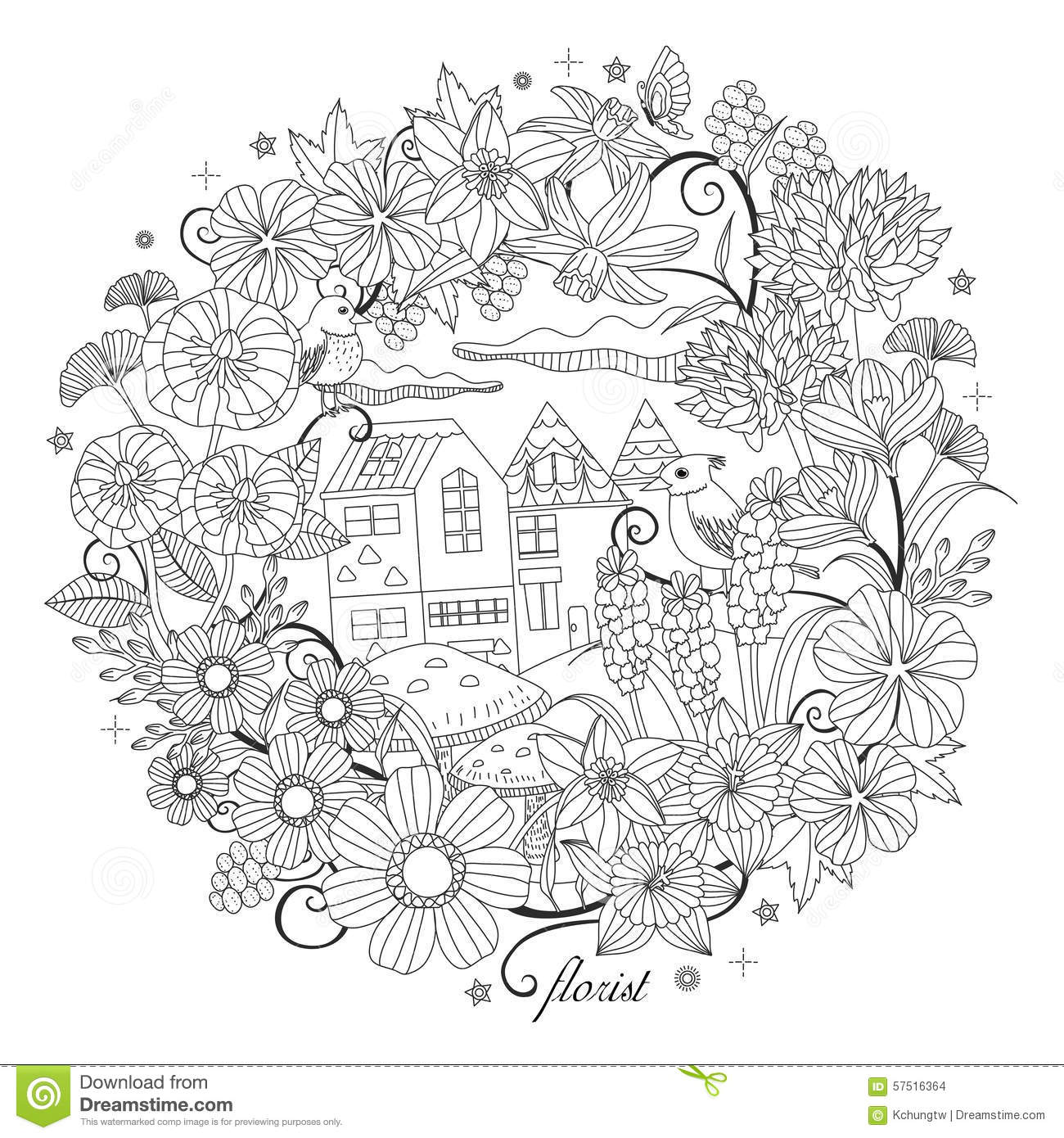 fantastic garden scenery black white pattern coloring book adults 57516364 in addition nature scenery colouring pages 1 on nature scenery colouring pages along with nature scenery colouring pages 2 on nature scenery colouring pages furthermore nature scenery colouring pages 3 on nature scenery colouring pages furthermore nature scenery colouring pages 4 on nature scenery colouring pages