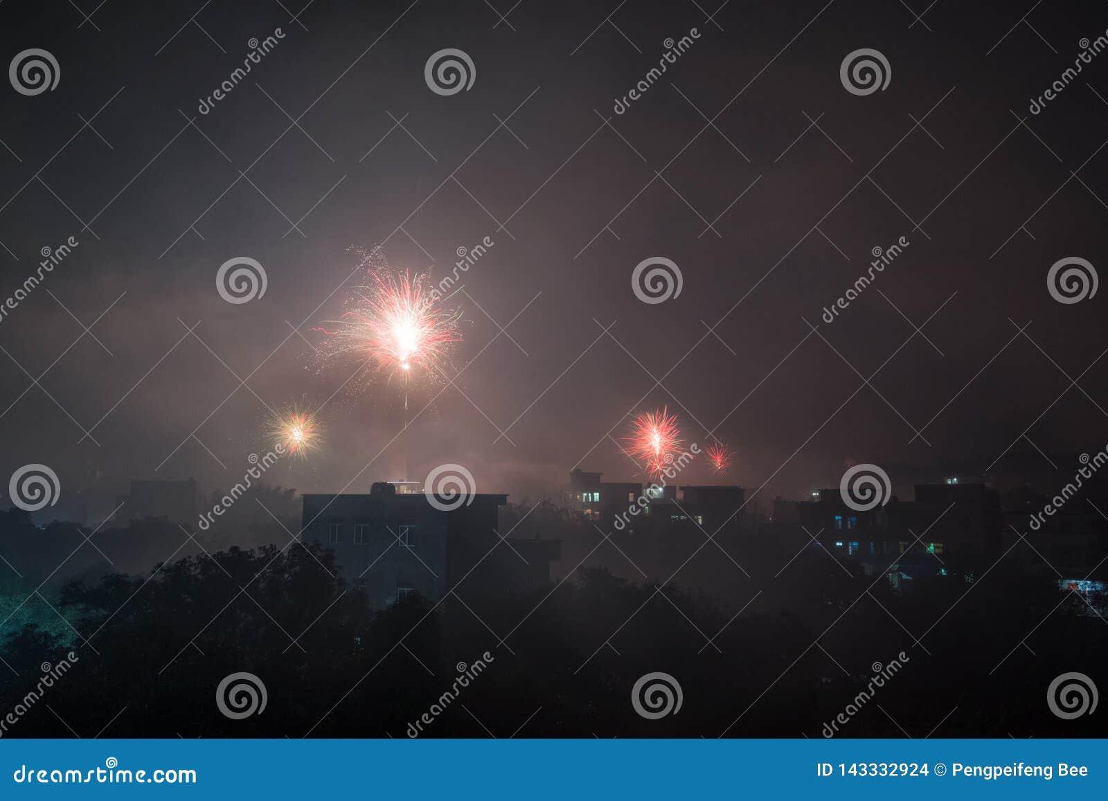 Fantastisches Feuerwerk