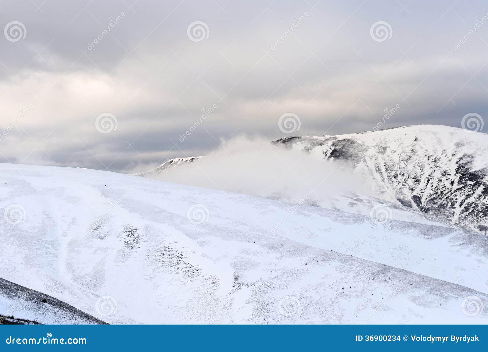 Fantastyczny zima krajobraz