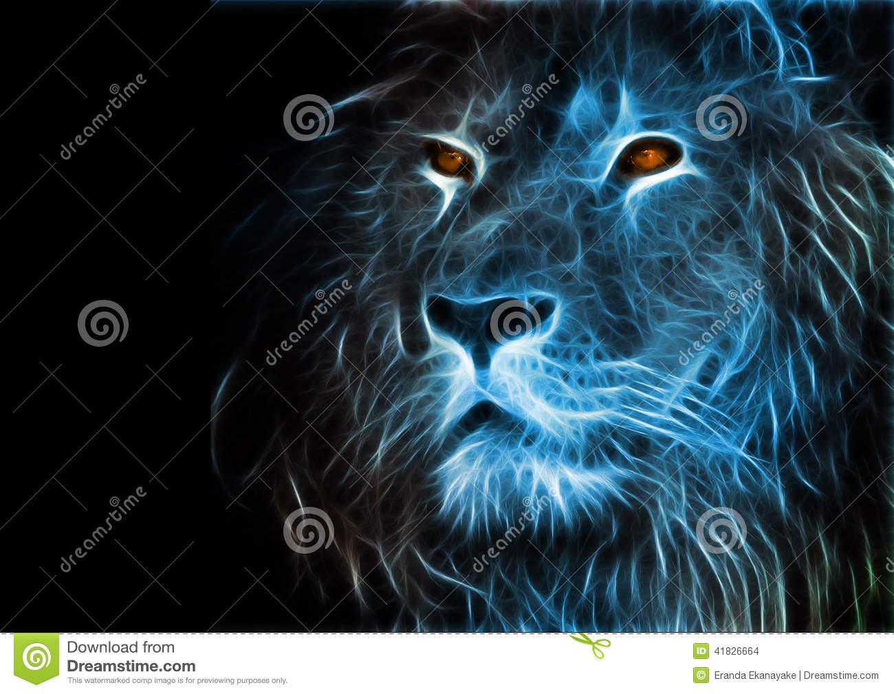 Fantasy lion - photo#28