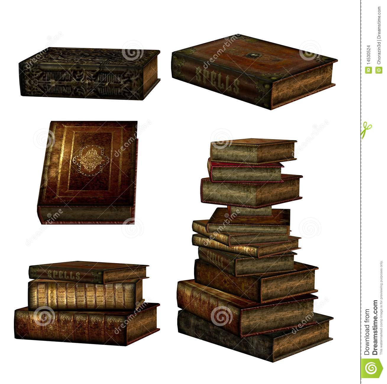 Fantasy Books Stock Images - Image: 14530524