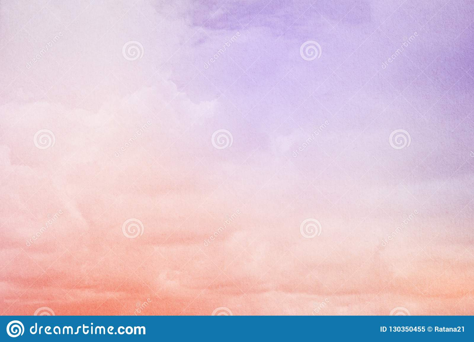 d29292b83e Fantasy Cloudy Sky With Pastel Gradient Color And Grunge Texture ...