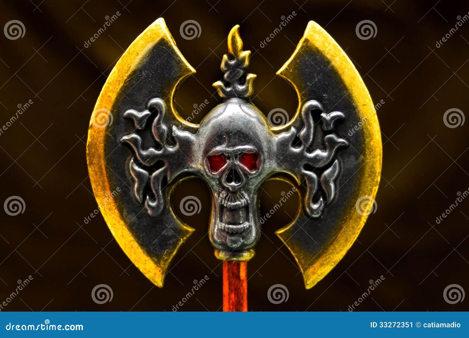 Fantasy double axe