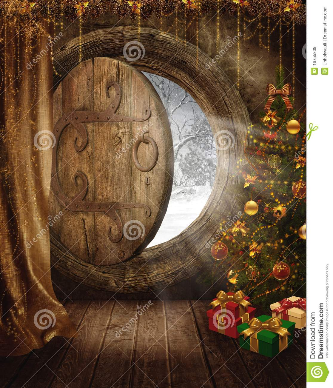 Fantasy Fairy Room 2 Royalty Free Stock Images Image