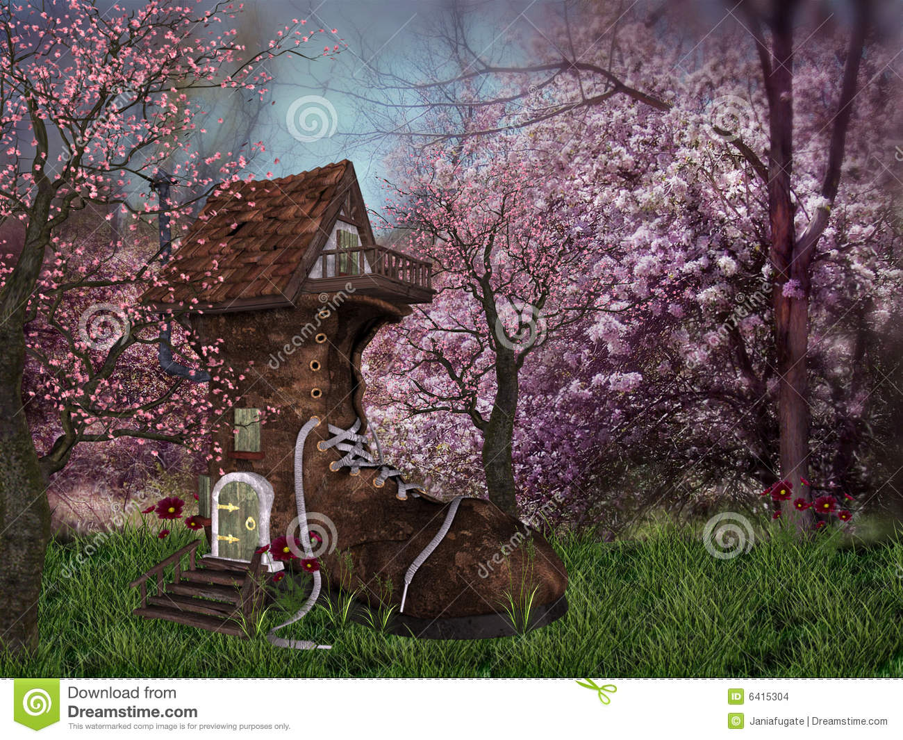 Fantasy Forest Flowers Galleryhipcom The Hippest