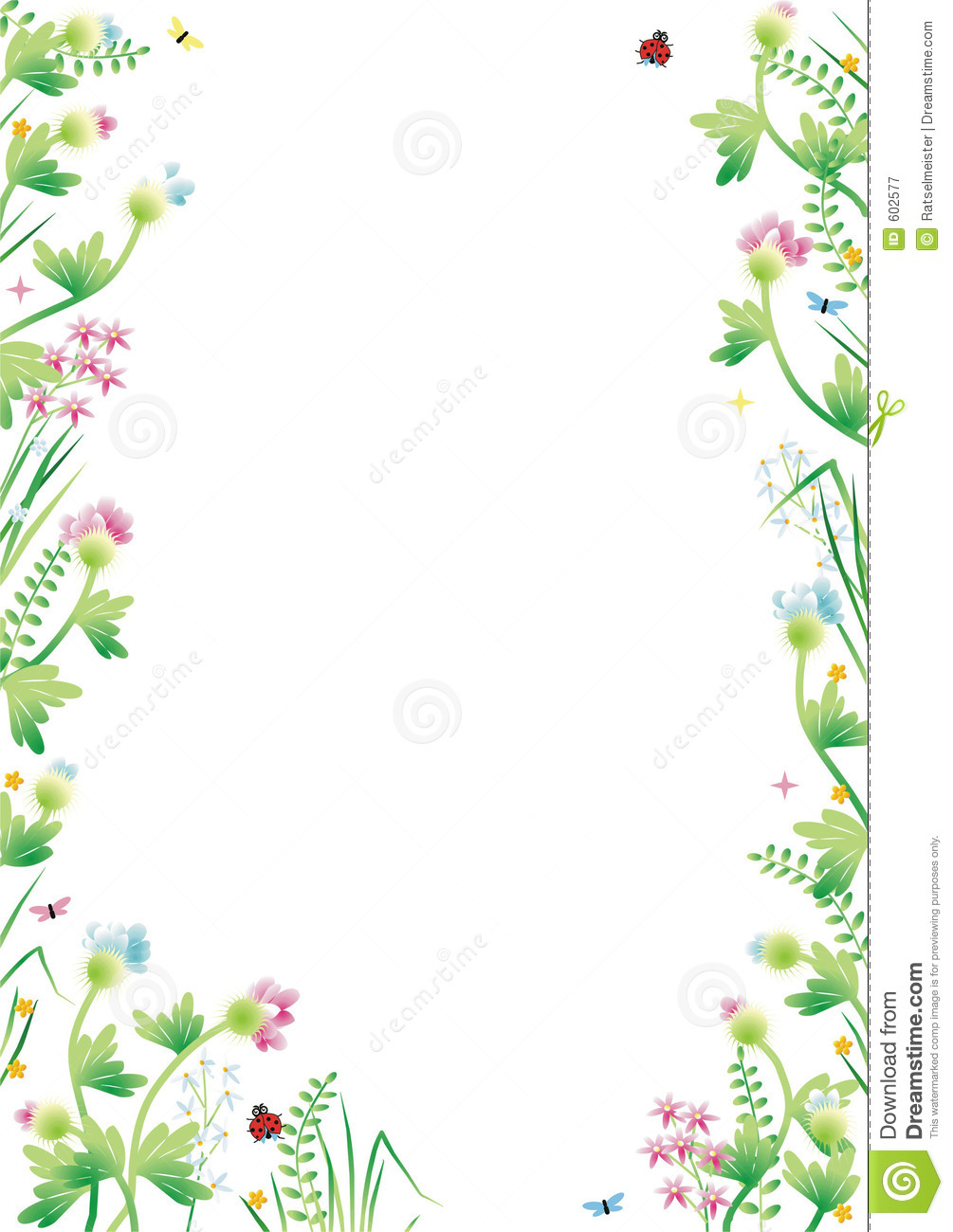 Fantasy Garden Background 3 Royalty Free Stock Photography ...