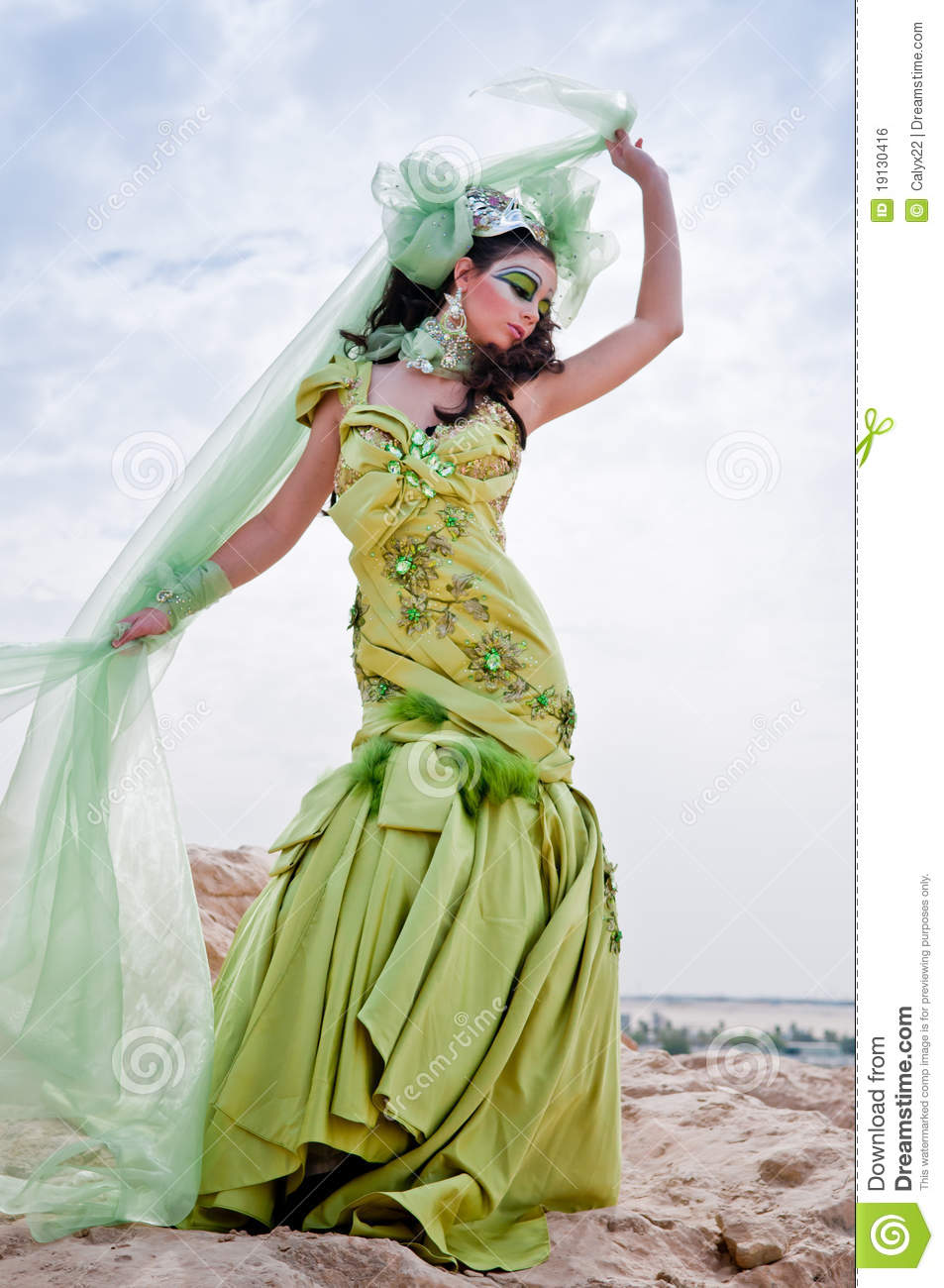 Fantasy Goddess Royalty Free Stock Image