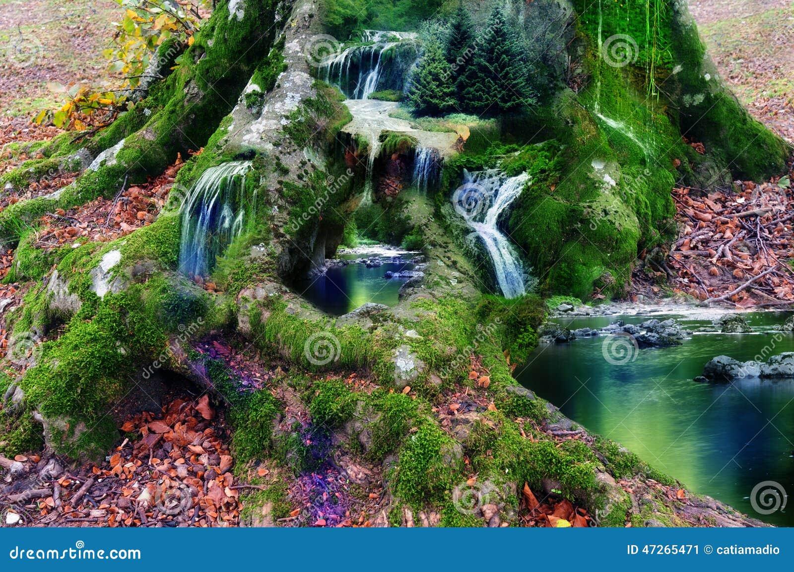 Fantasy Land Stock Image Image Of Little Mistycal