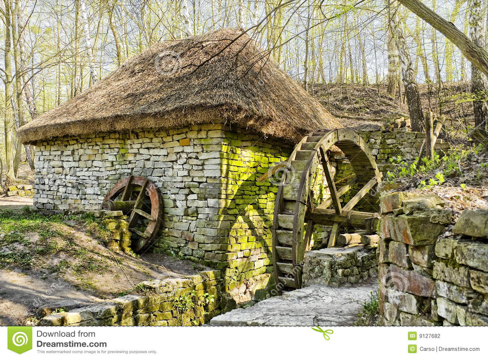 Fantasy Mill Stock Photography Image 9127682