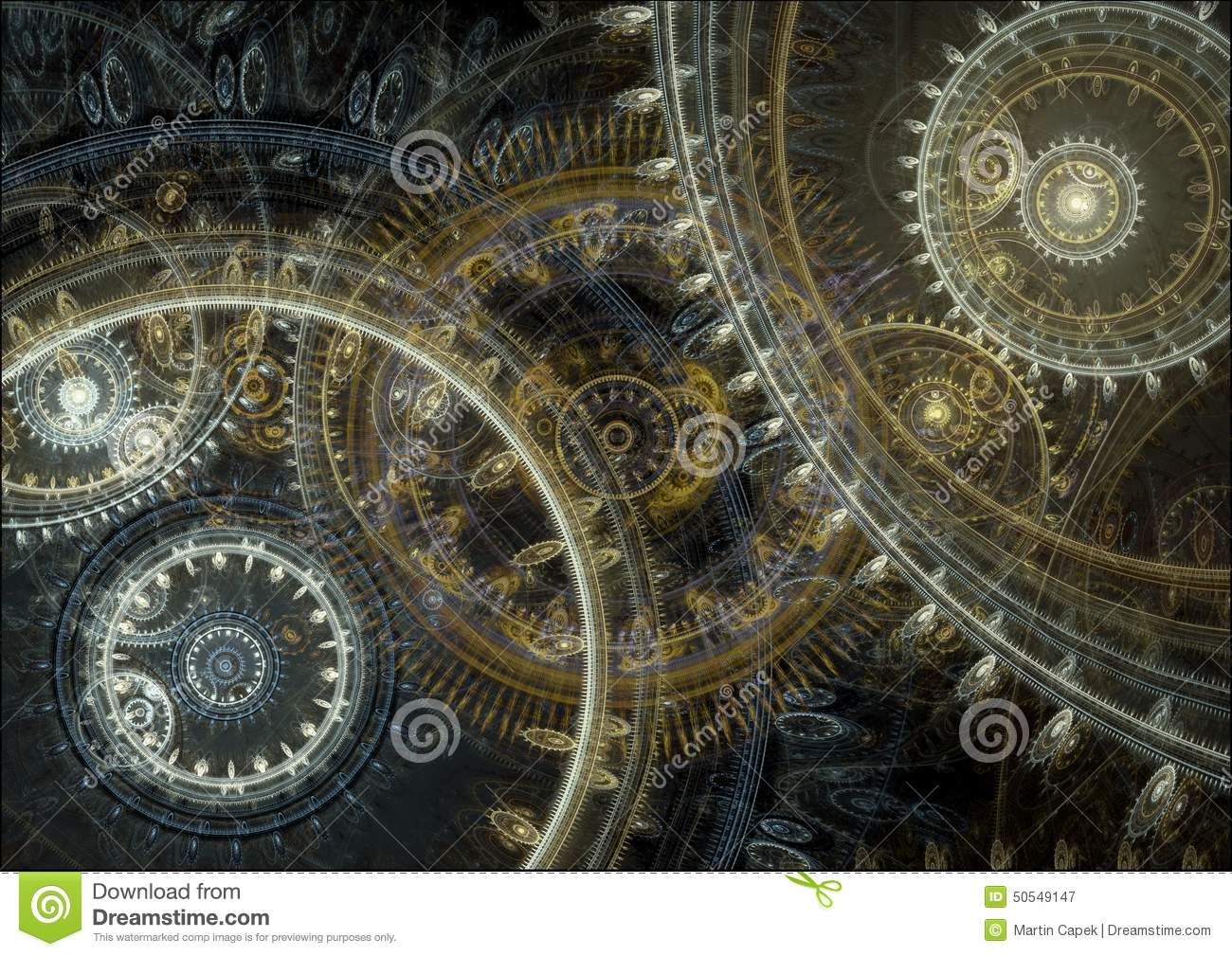 steampunk cogs abstract fantasy - photo #7