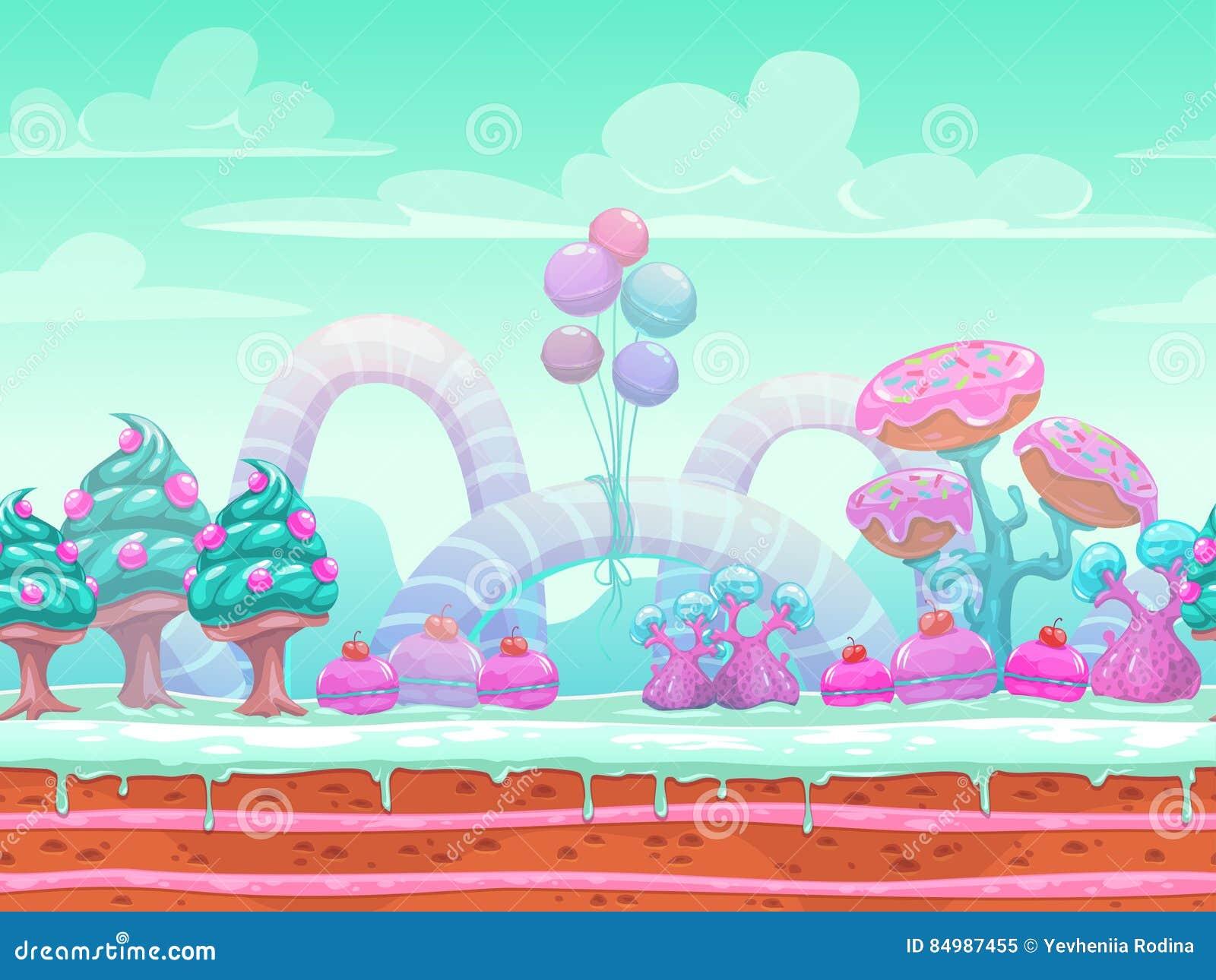 Pink Candyland Wallpaper Download