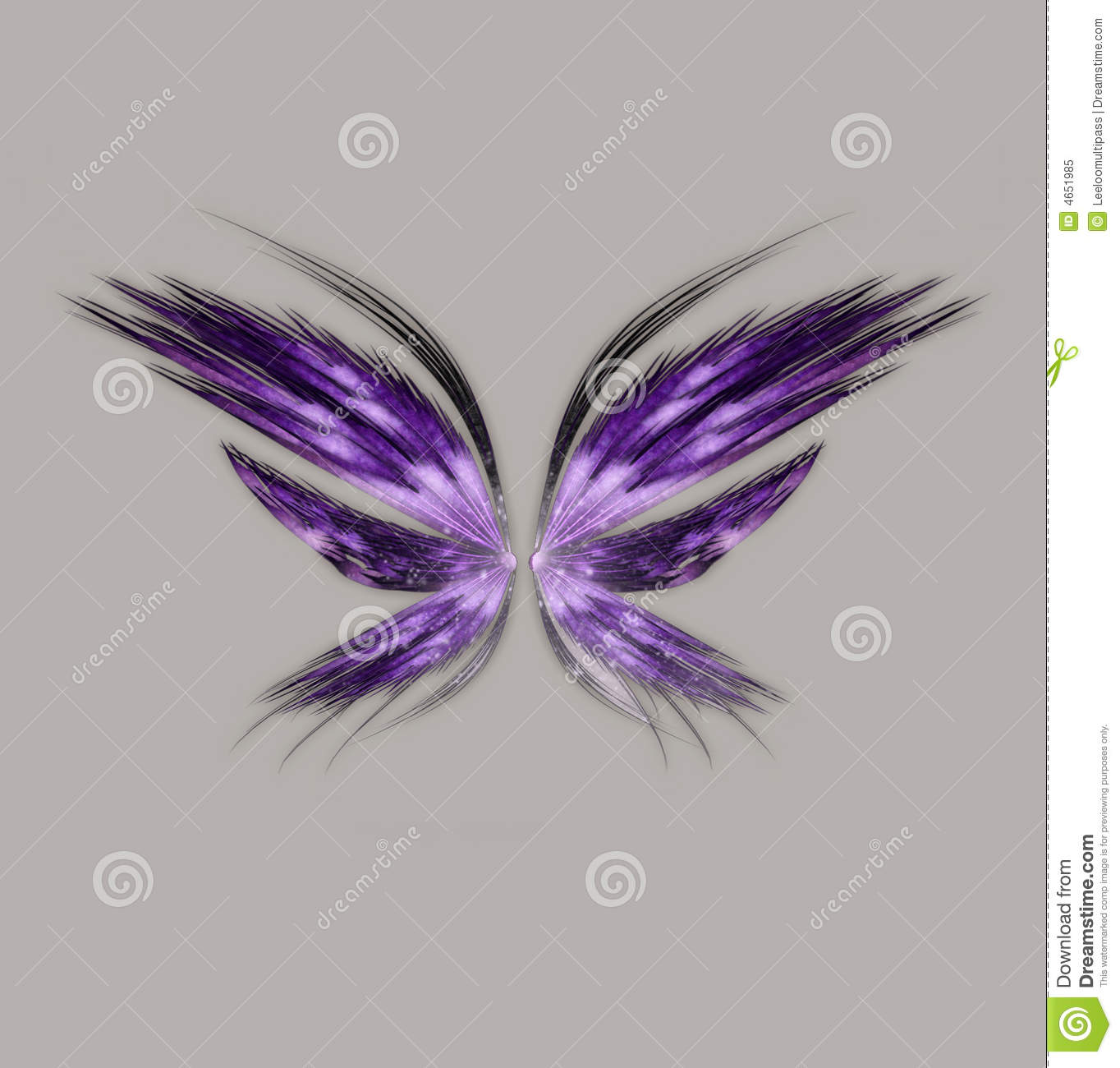 Download Fantasy Wings stock illustration. Illustration of flying - 4651985