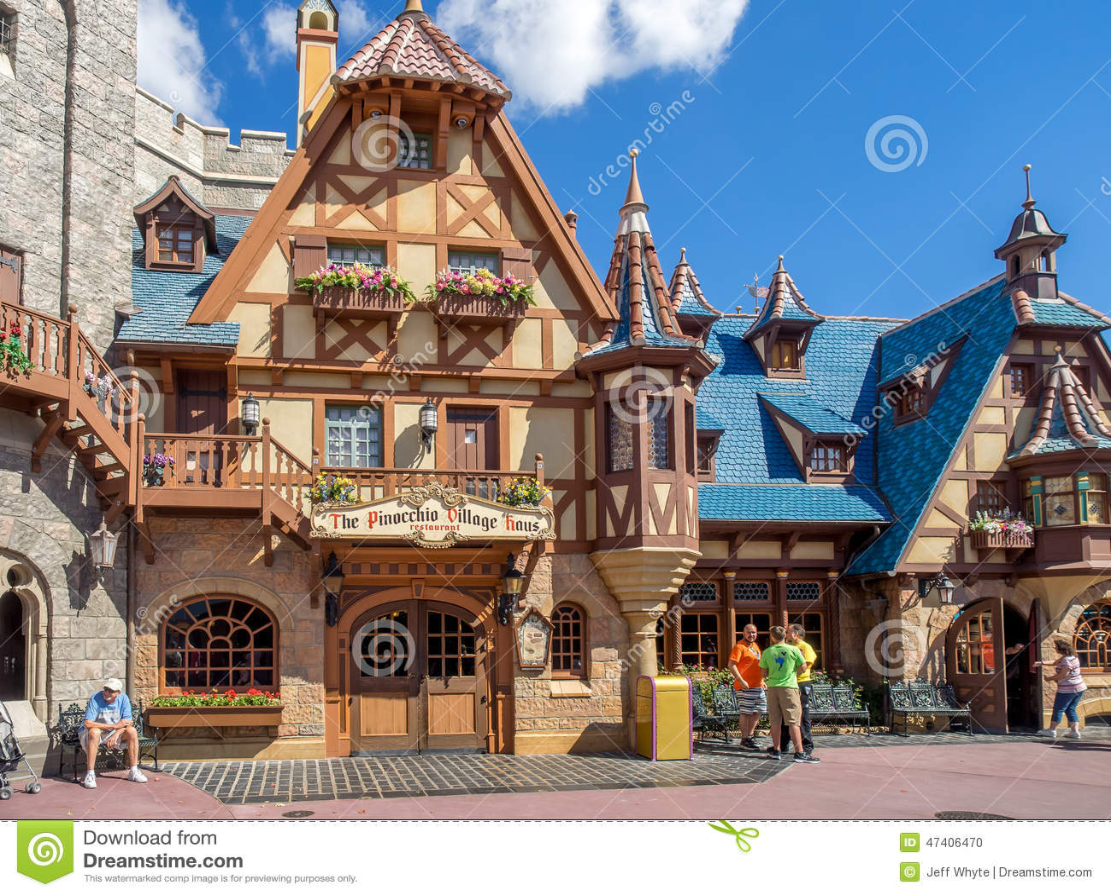Fantasyland Disney World Editorial Image Image Of Land