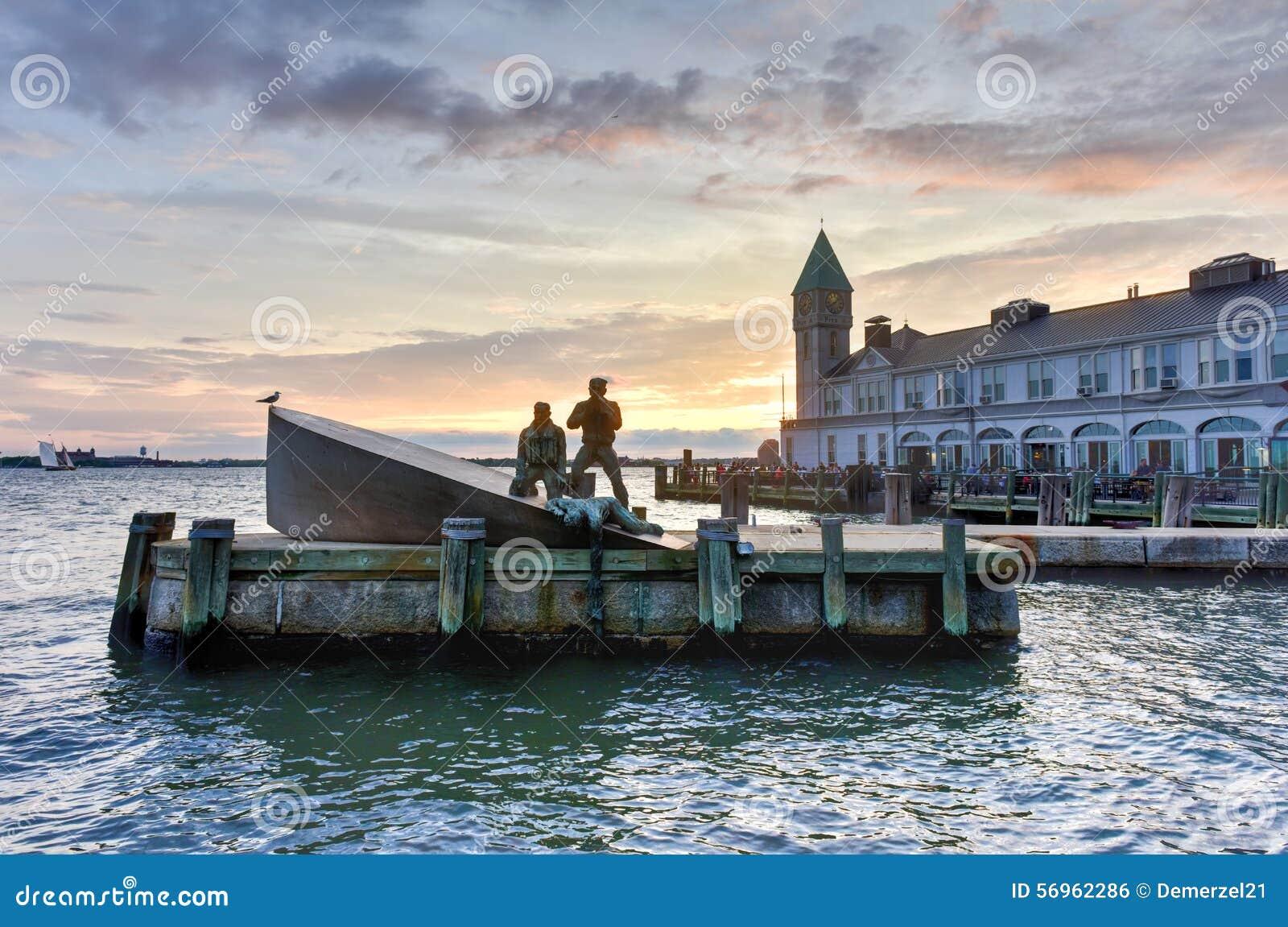 Fanti di marina mercantili americani commemorativi