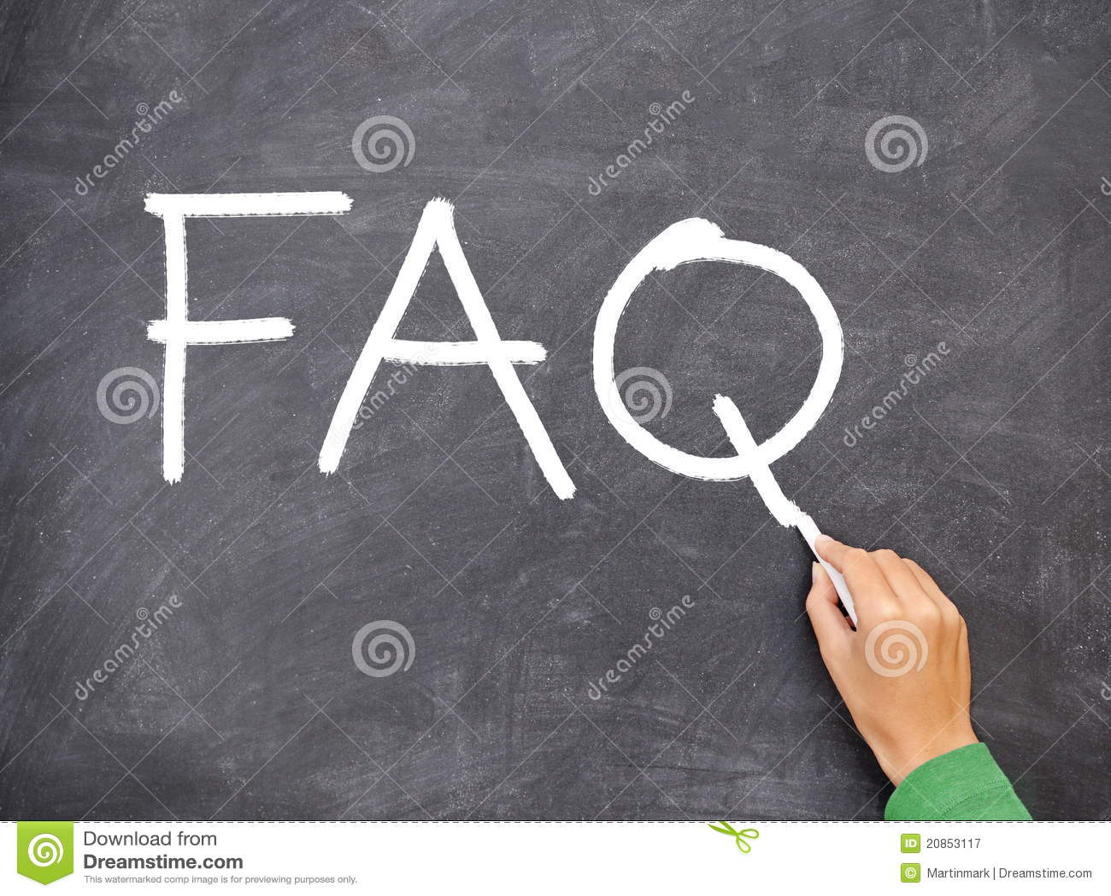 FAQ, vraagbord