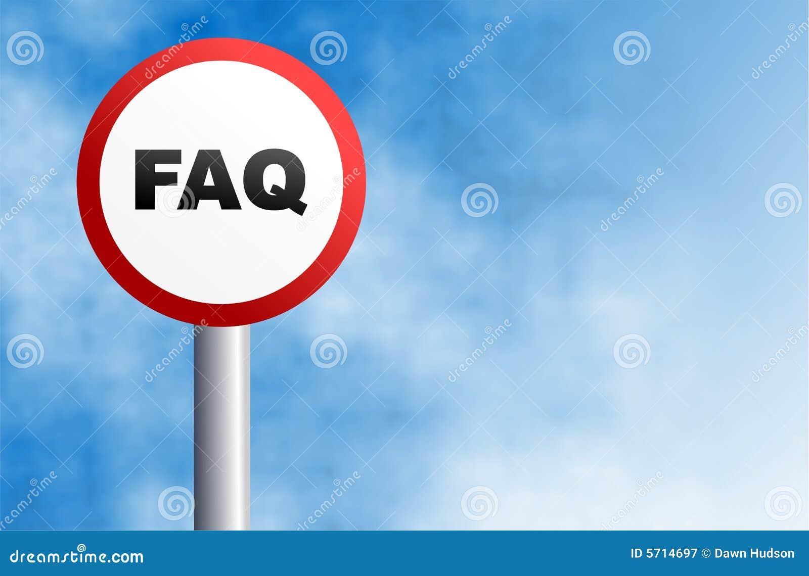 FAQ-Zeichen