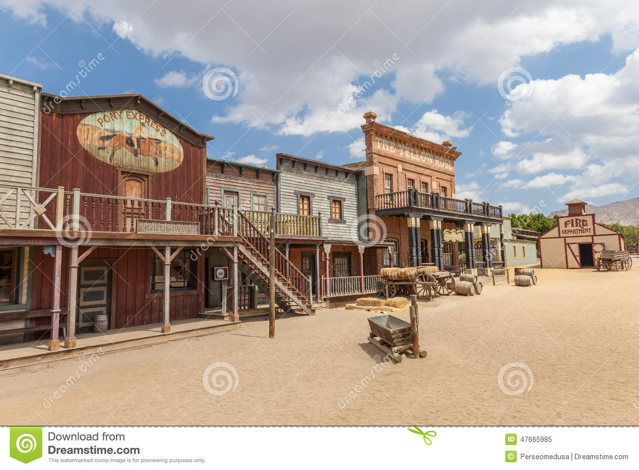 Far West Stock Photo - Image: 47665985