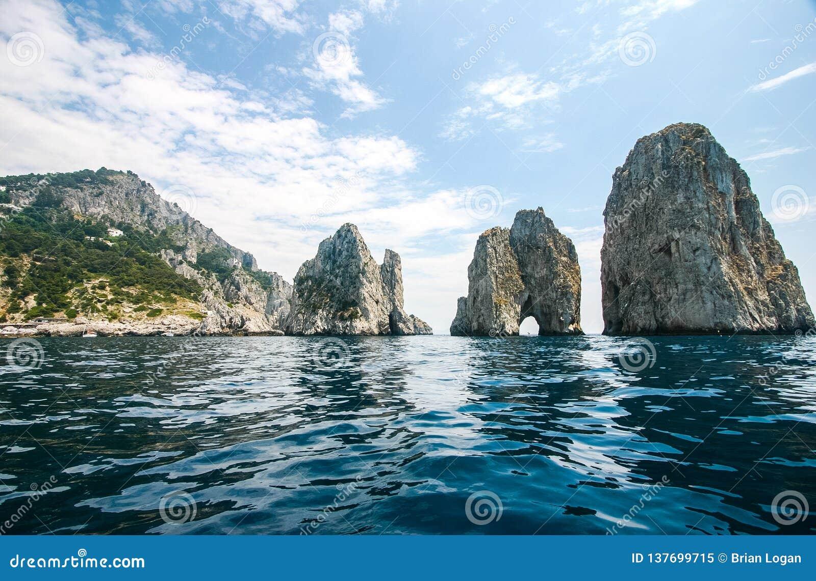 Capri, Italy - Faraglioni