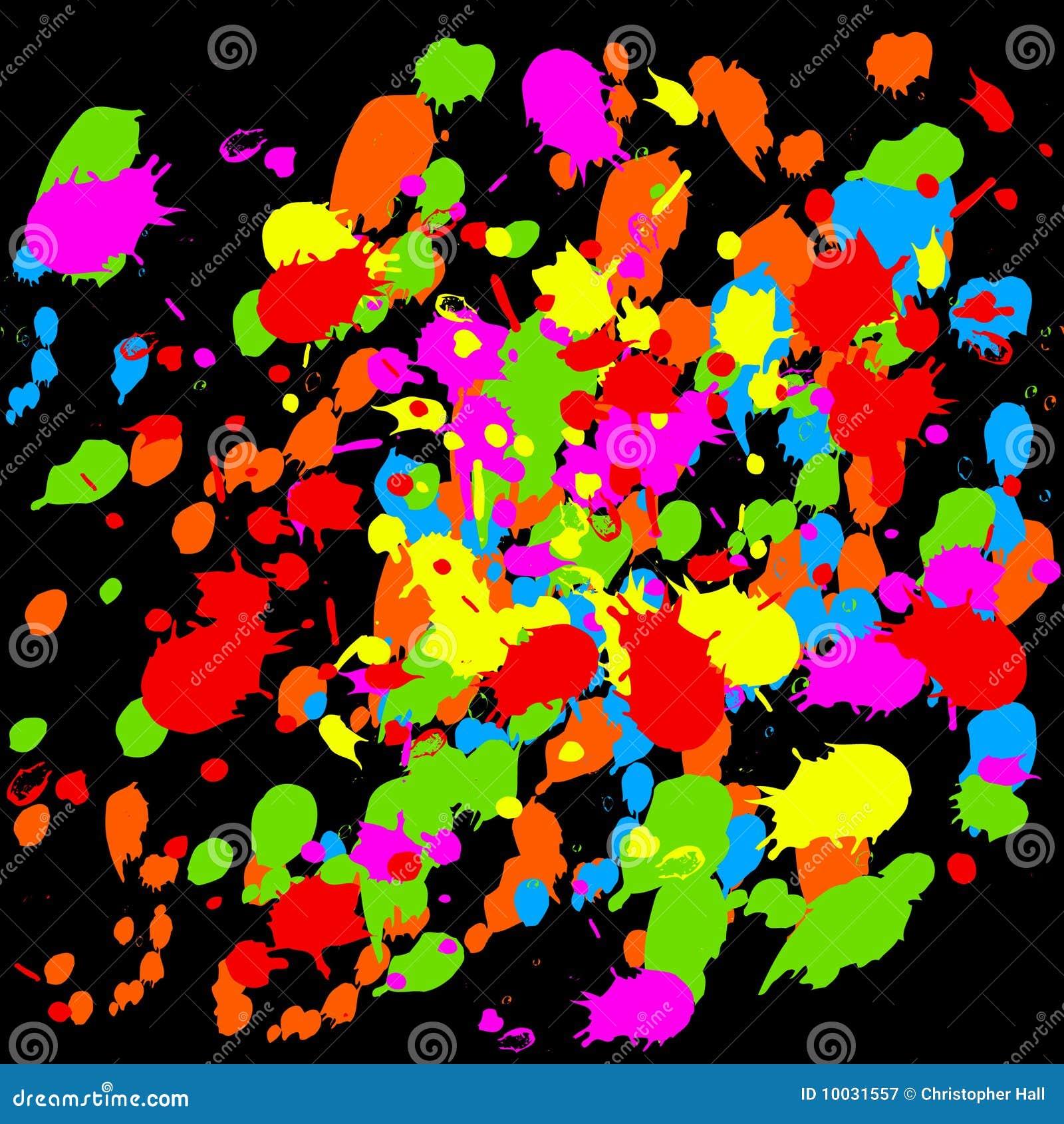 Farb splats