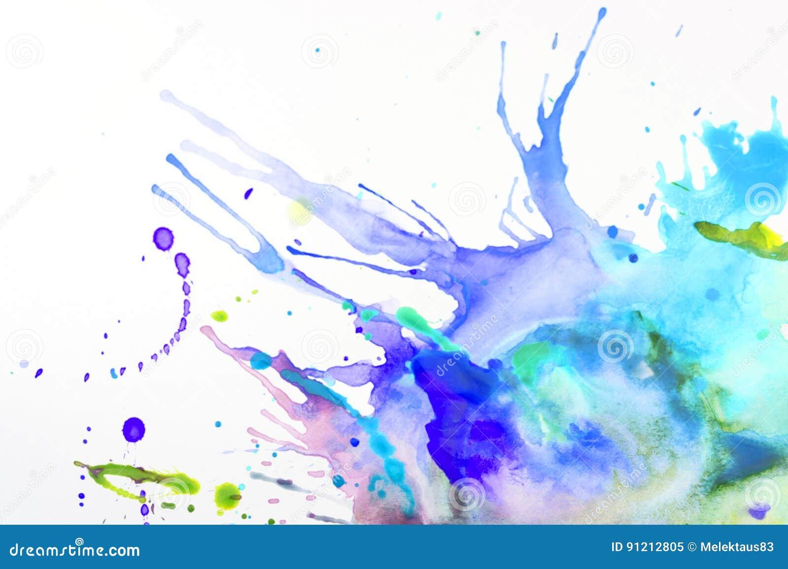 Farba na prześcieradle papier