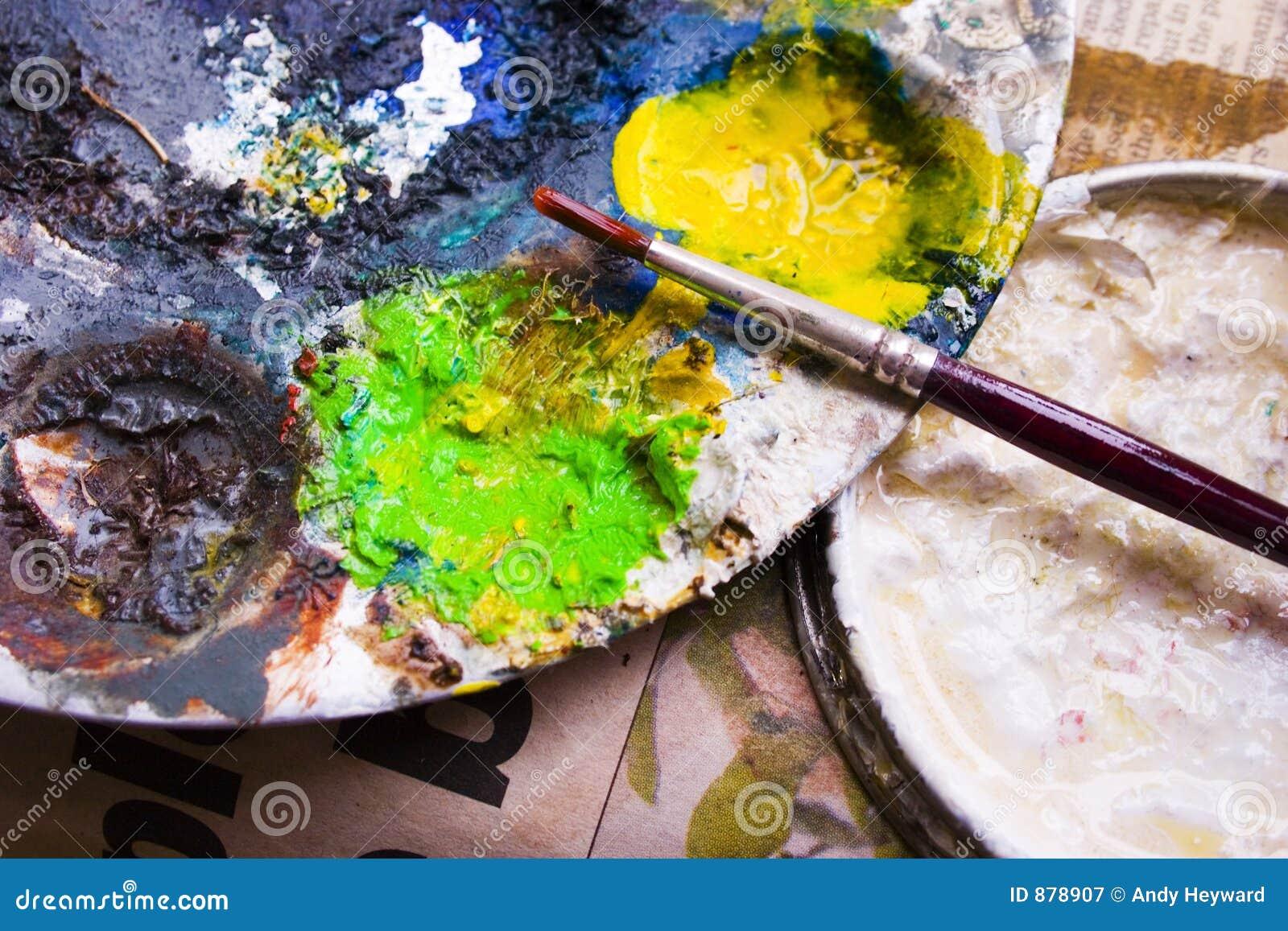 Farba olejna