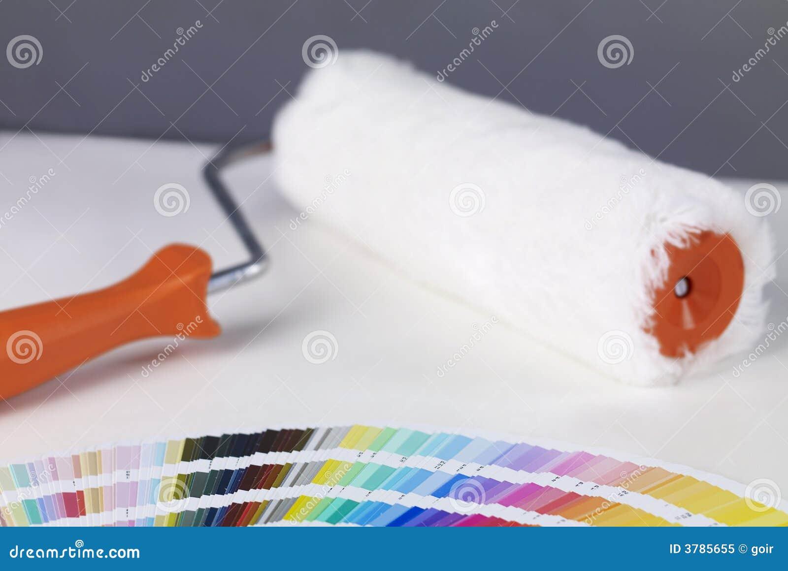 Farba rolki
