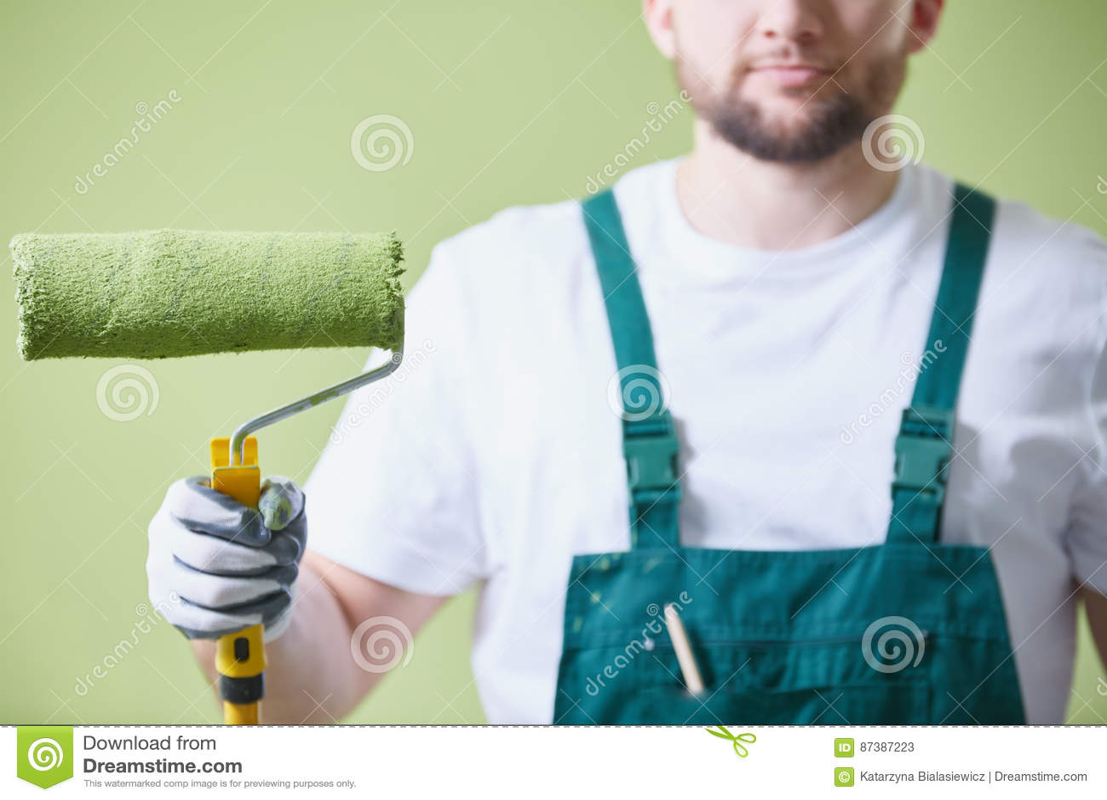 Farba rolownik malować