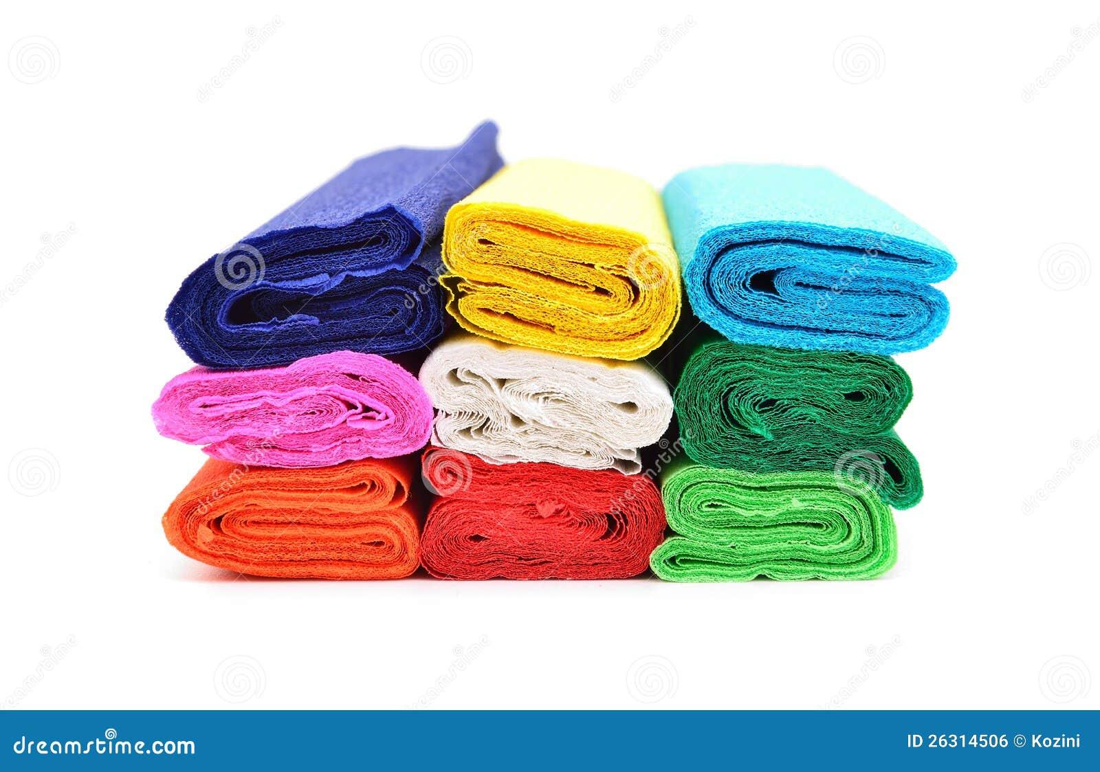 Farbe Gewebepapier