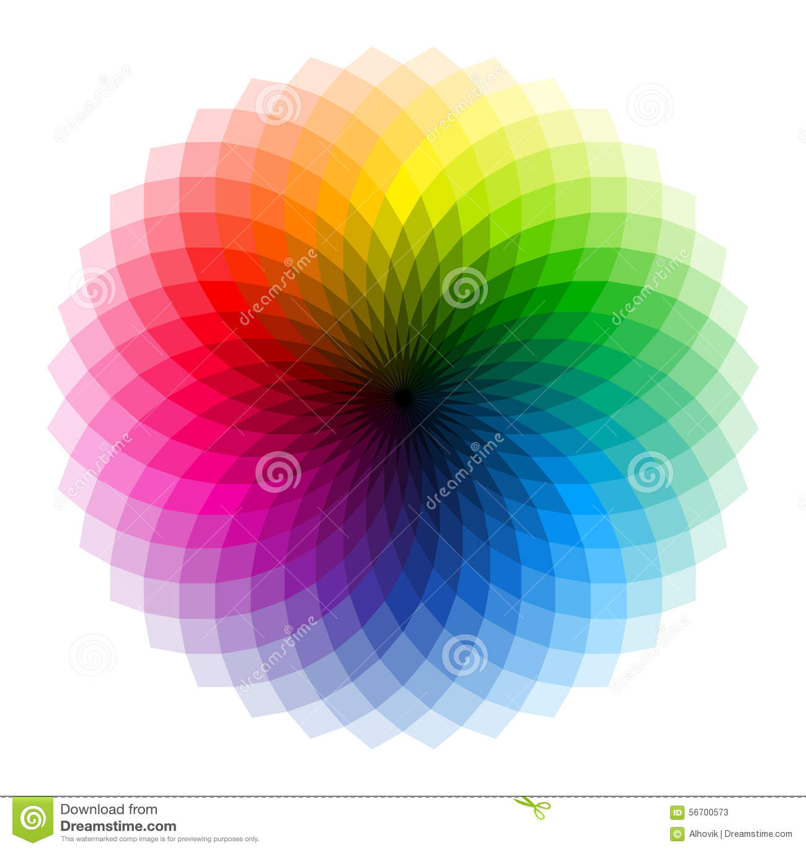 Farben auf Weiß