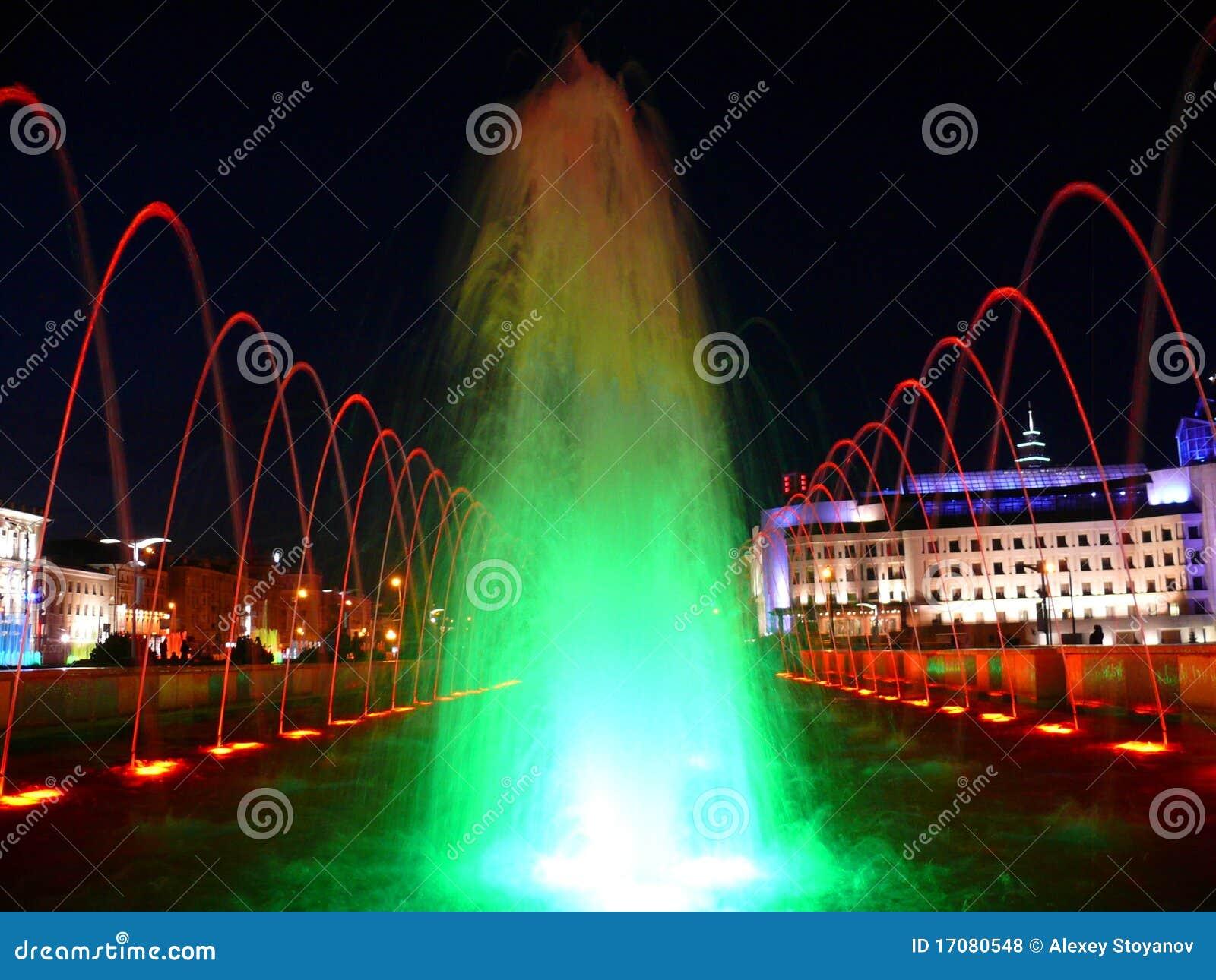 Farben-Brunnen in Kazan