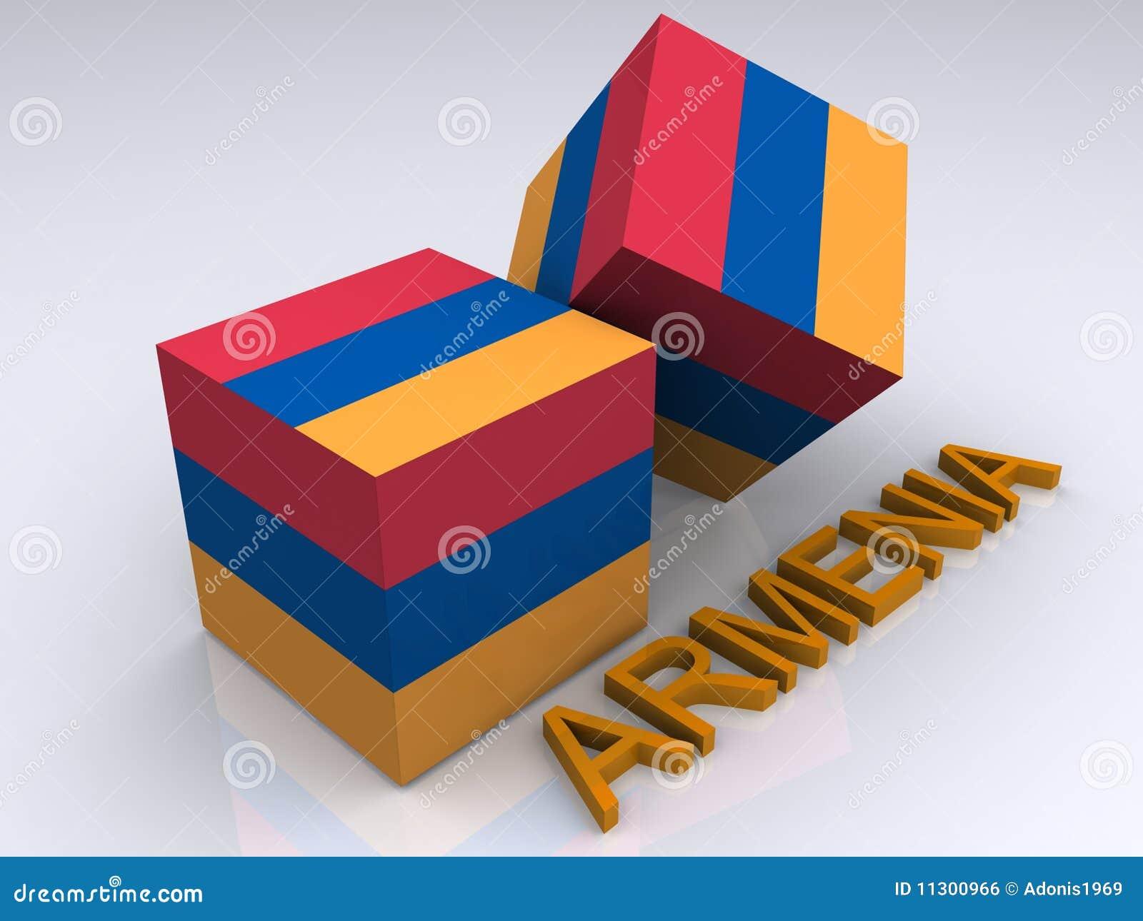 Farben von Armenien
