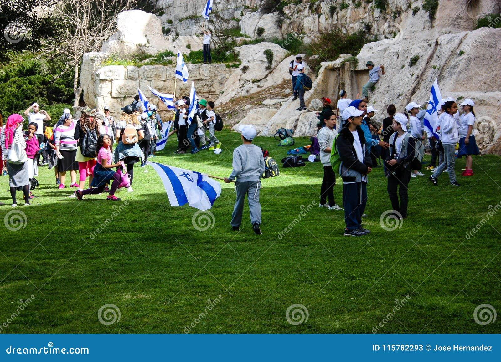 Farben von Jerusalem in Israel