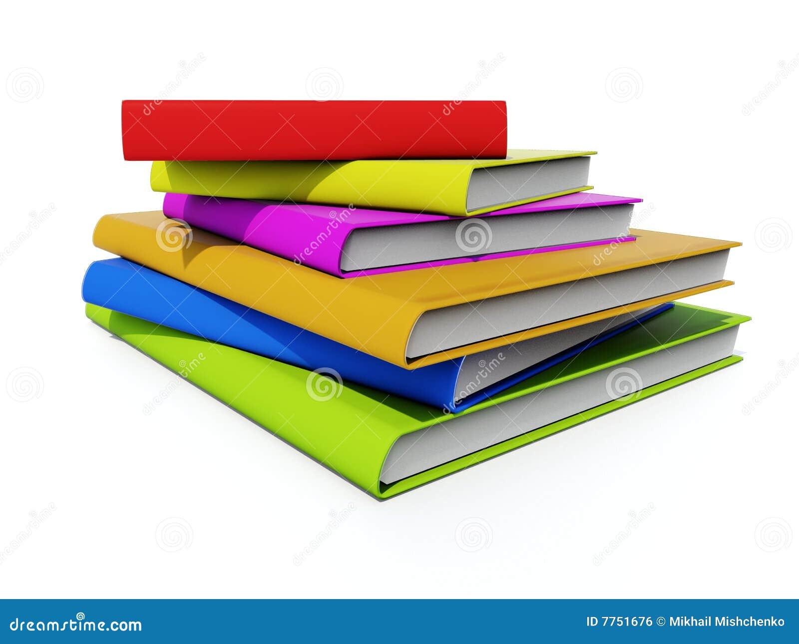 Farbige Bücher
