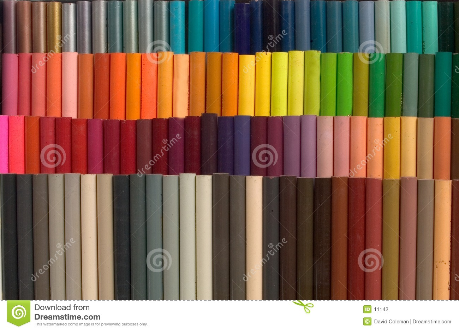 Farbige Bleistifte