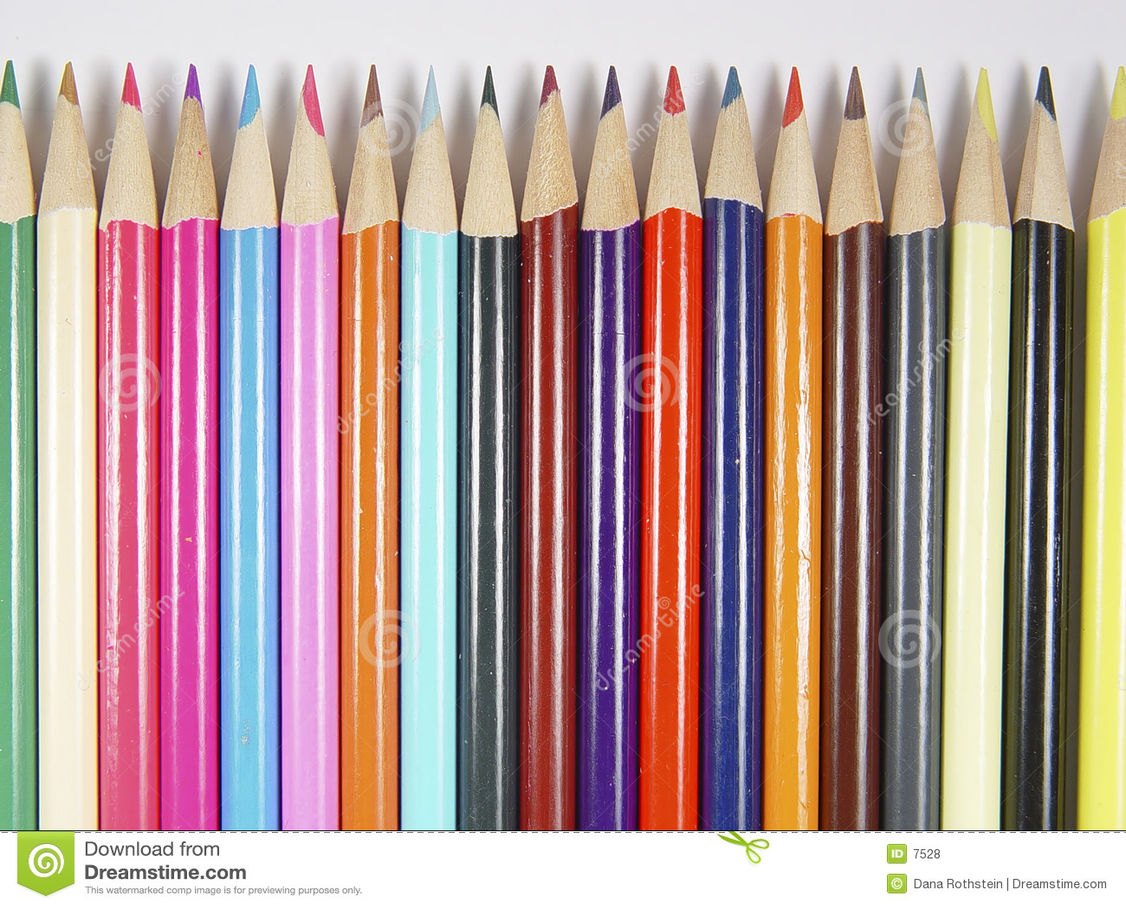 Farbige Bleistifte 4