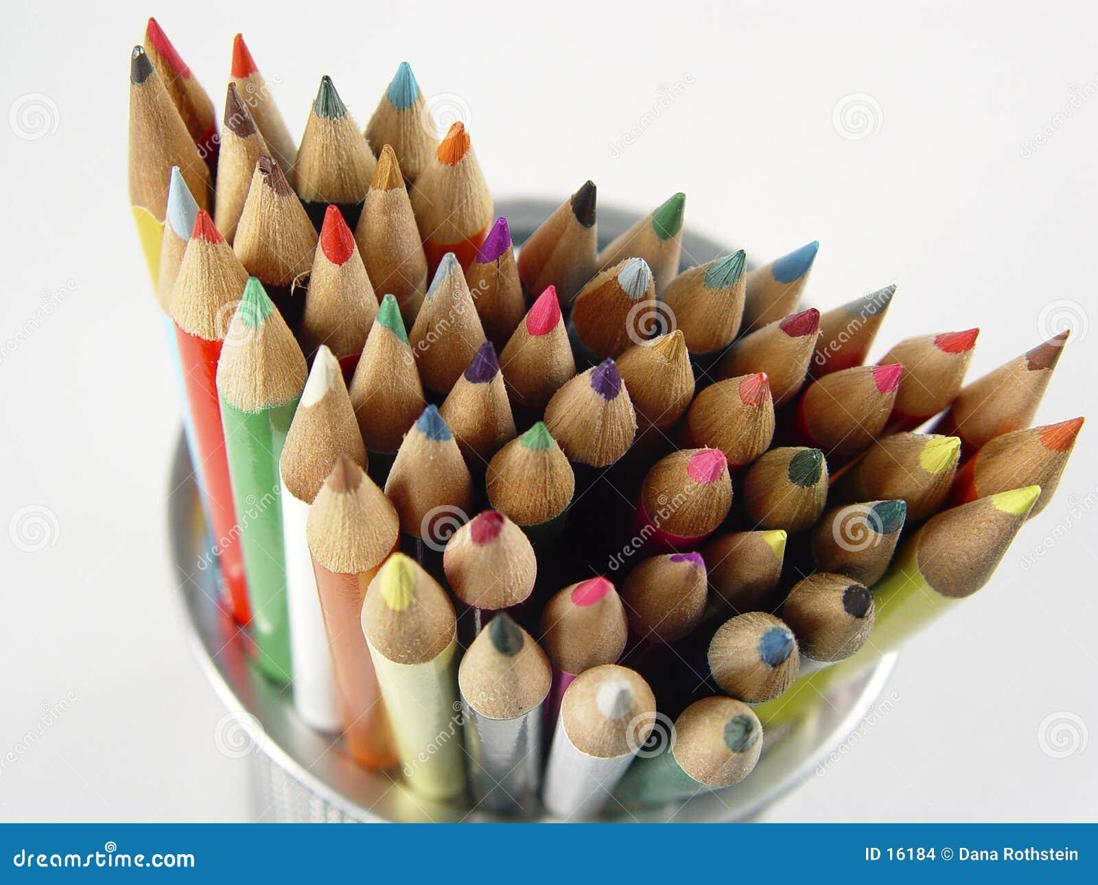 Farbige Bleistifte 8