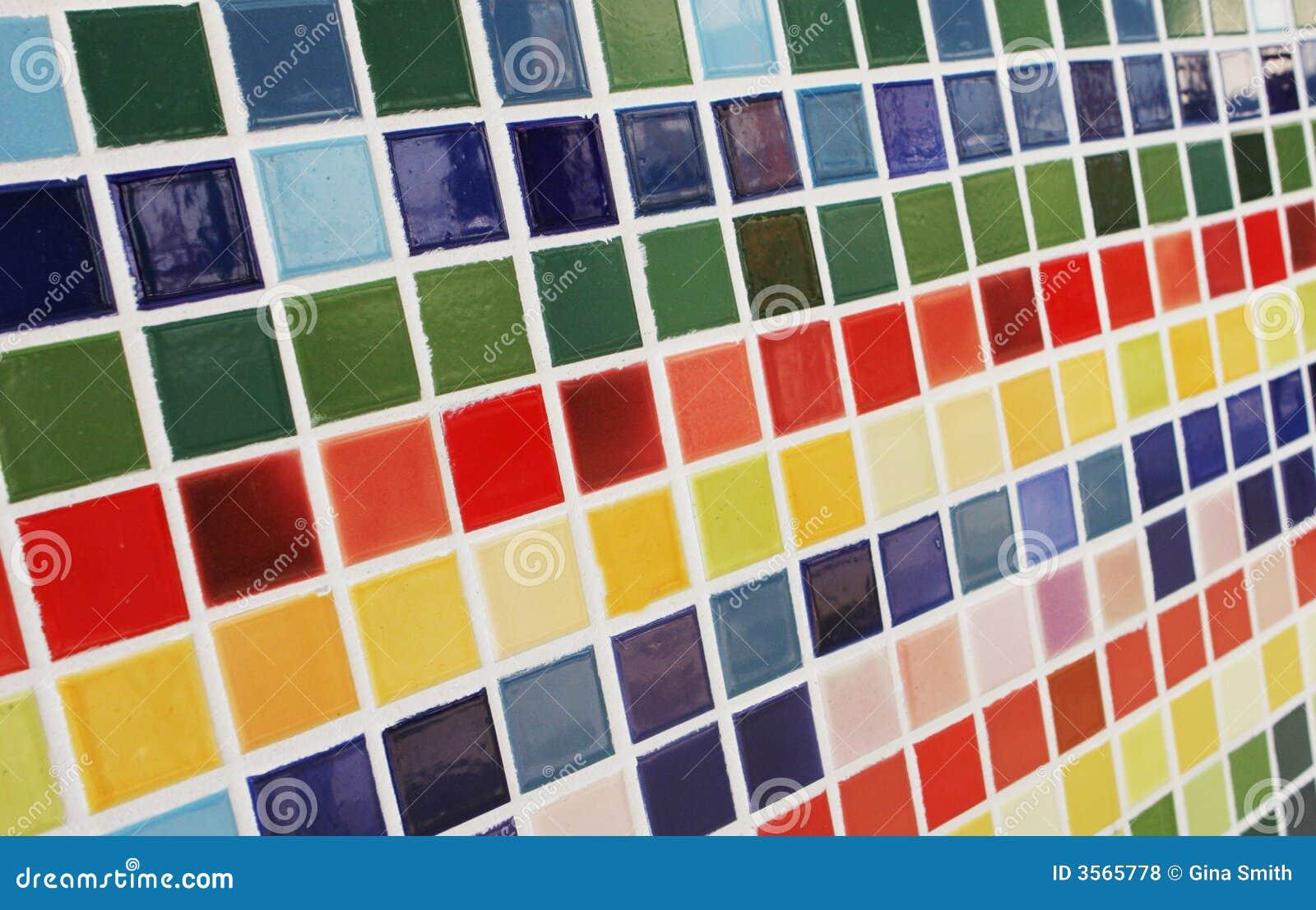 farbige fliesen stockfoto bild von kreativ tendenz. Black Bedroom Furniture Sets. Home Design Ideas