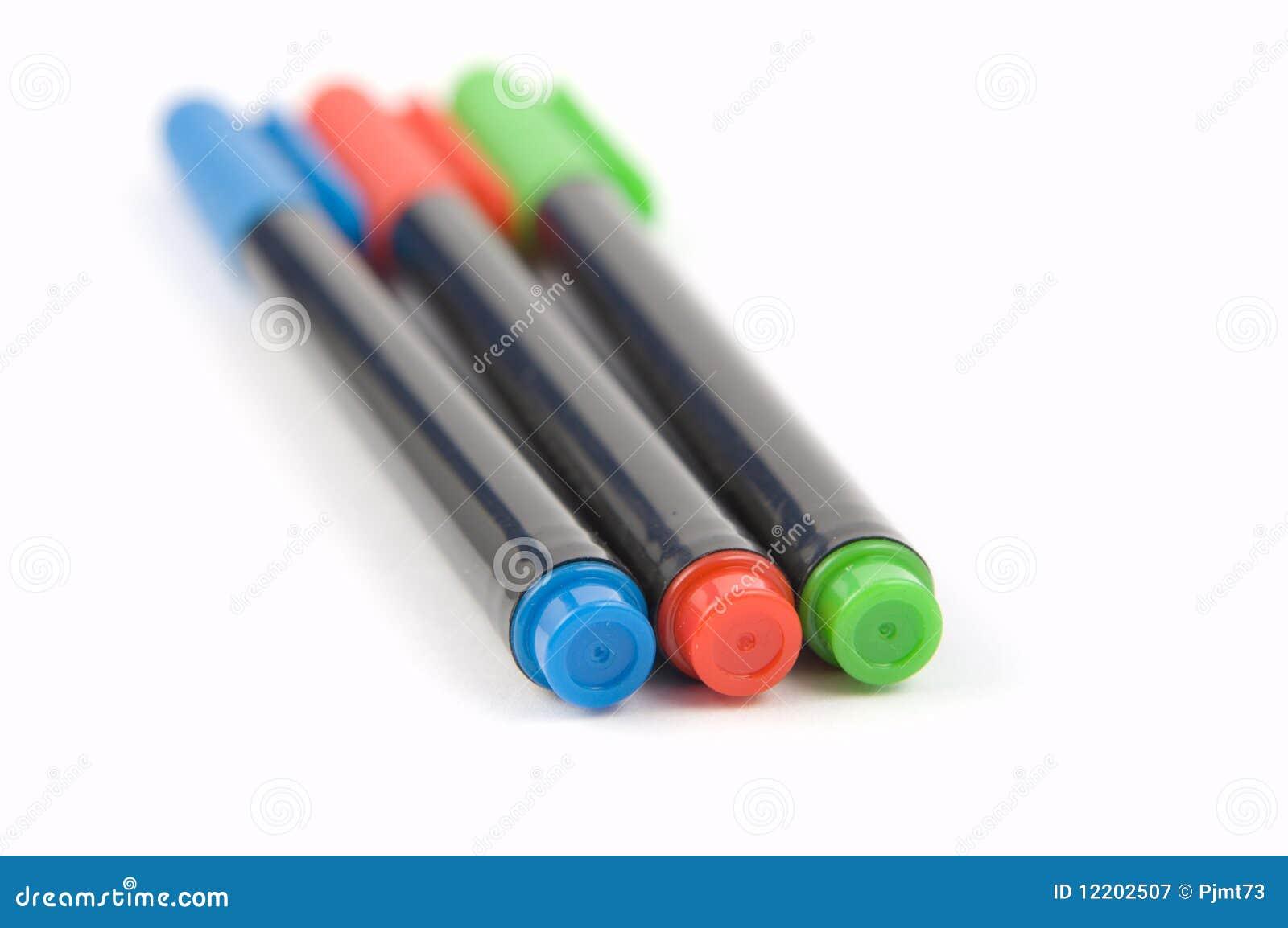 Farbige Markierungs-Federn 2