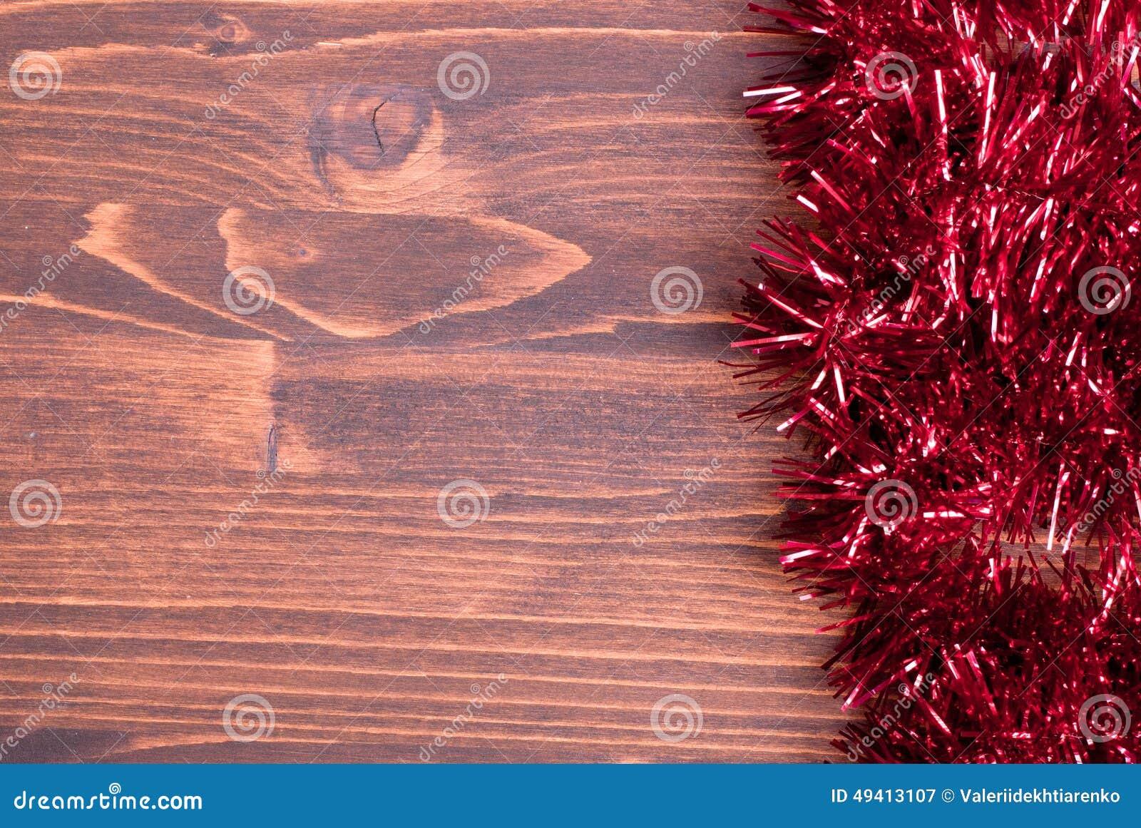 Download Farbige Weihnachtslichter Auf Einer Farbe Maserten Brett Gelassenen Raum FO Stockbild - Bild von hintergrund, gold: 49413107