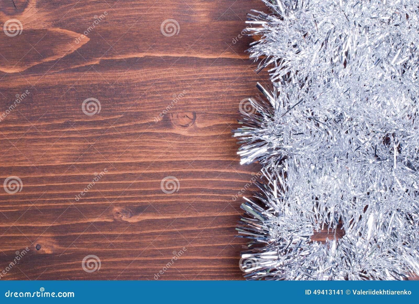 Download Farbige Weihnachtslichter Auf Einer Farbe Maserten Brett Gelassenen Raum FO Stockbild - Bild von grün, girlande: 49413141