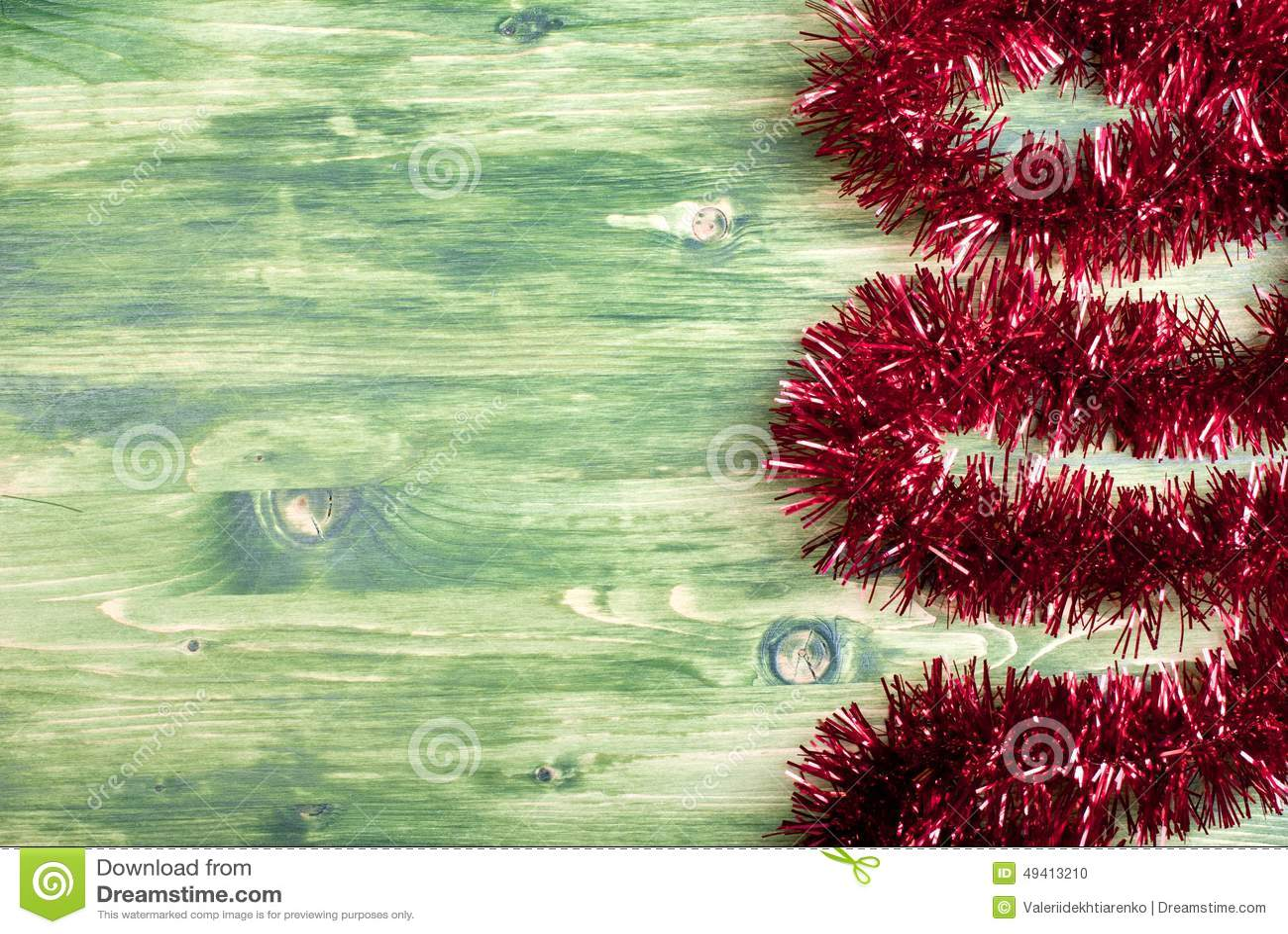 Download Farbige Weihnachtslichter Auf Einer Farbe Maserten Brett Gelassenen Raum FO Stockfoto - Bild von farbe, dezember: 49413210