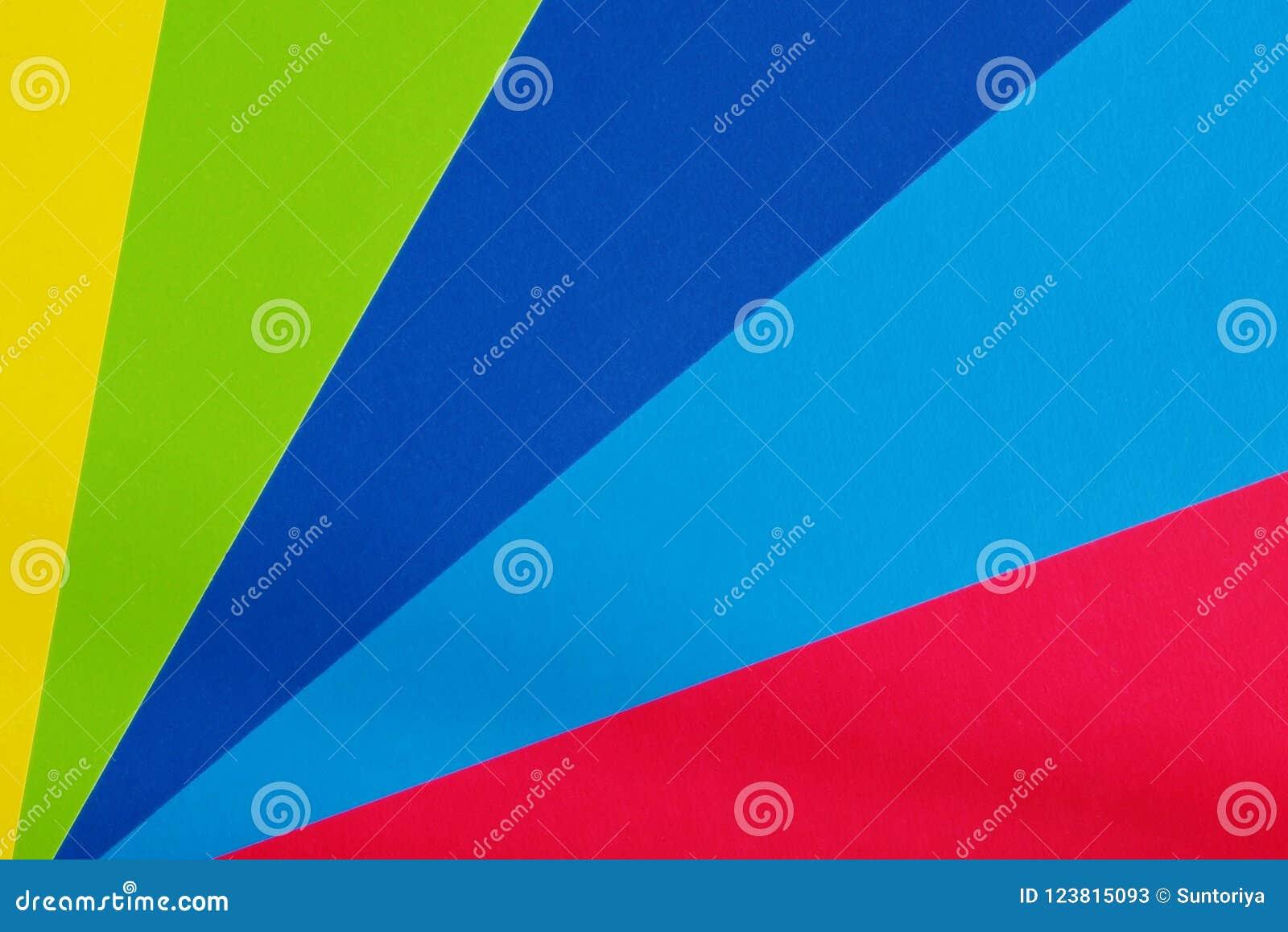 Farbpappe für Kreativität Mehrfarbiger Hintergrund Schulbedarf für Anwendungen