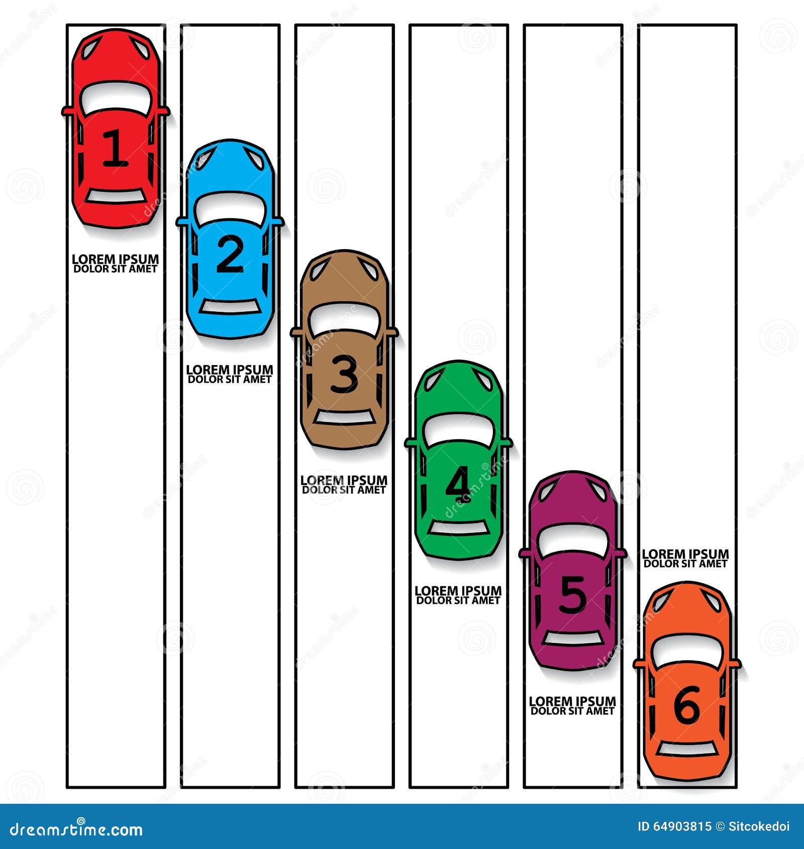 Farbrennwagen und hohler Vorsprung
