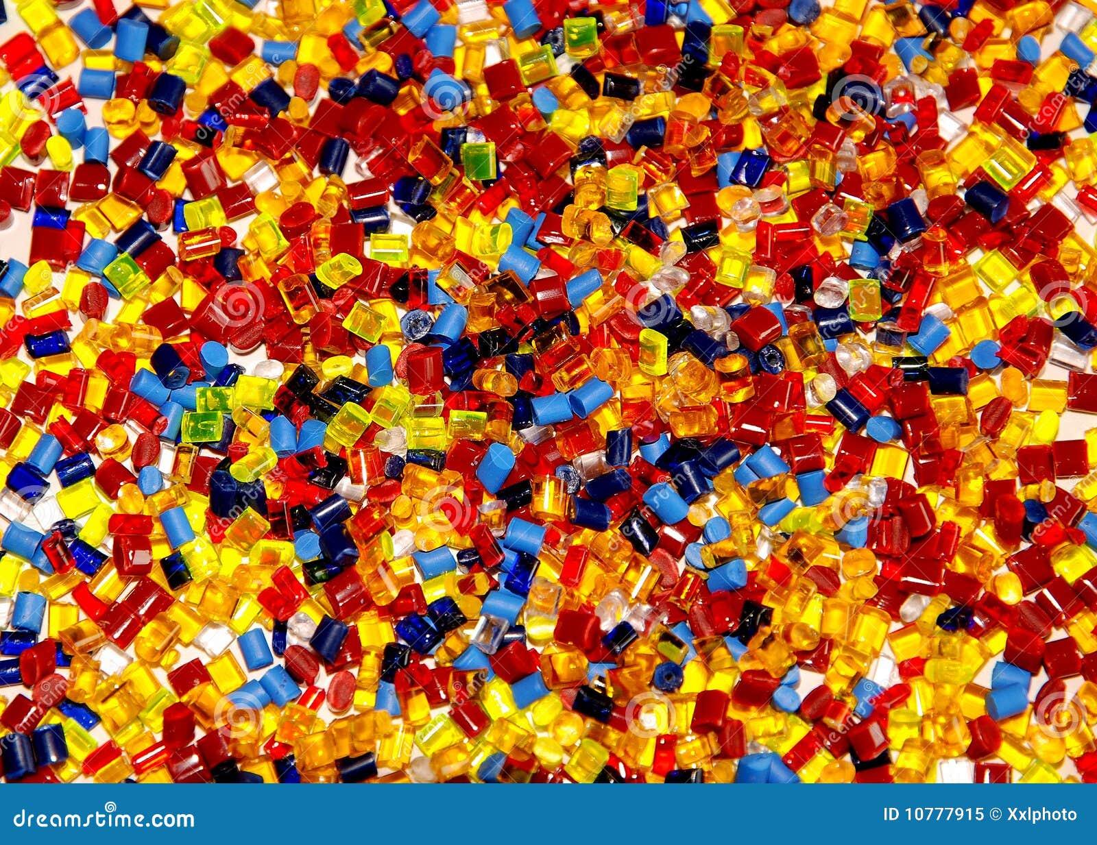 Farbujący granuluje klingeryt