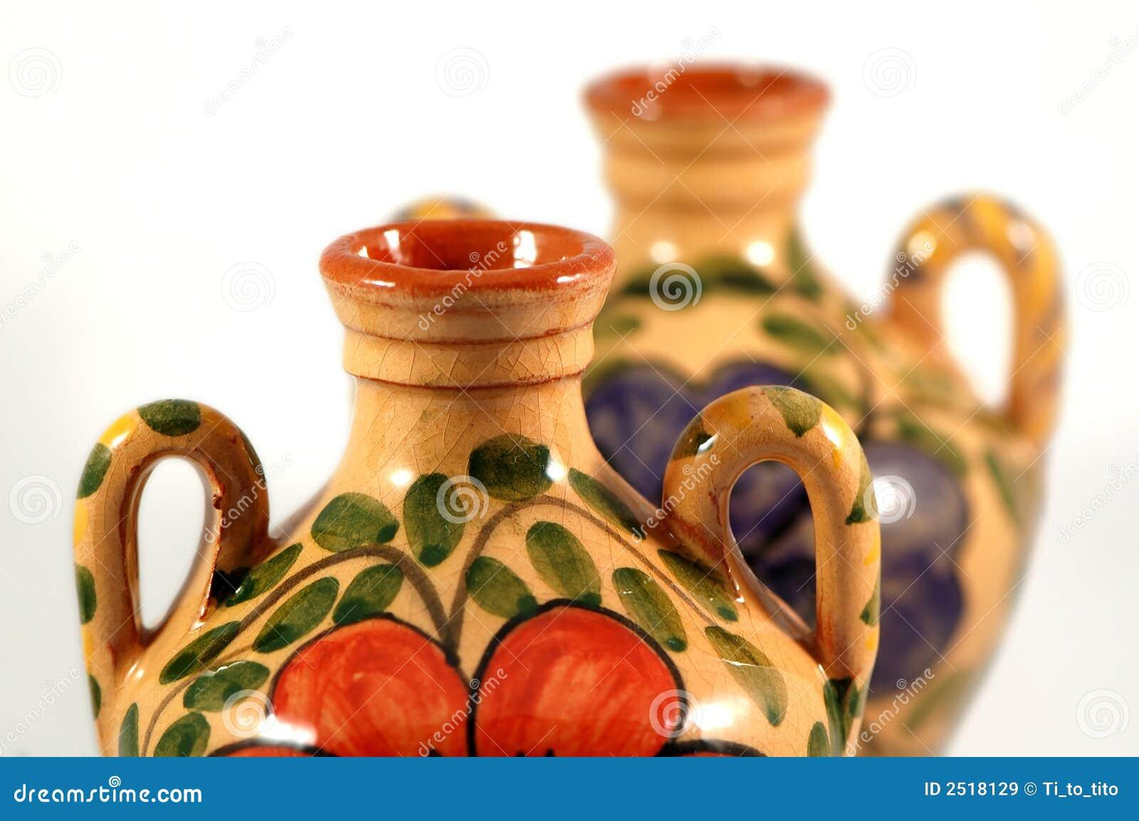 Farby ceramiczny zioło