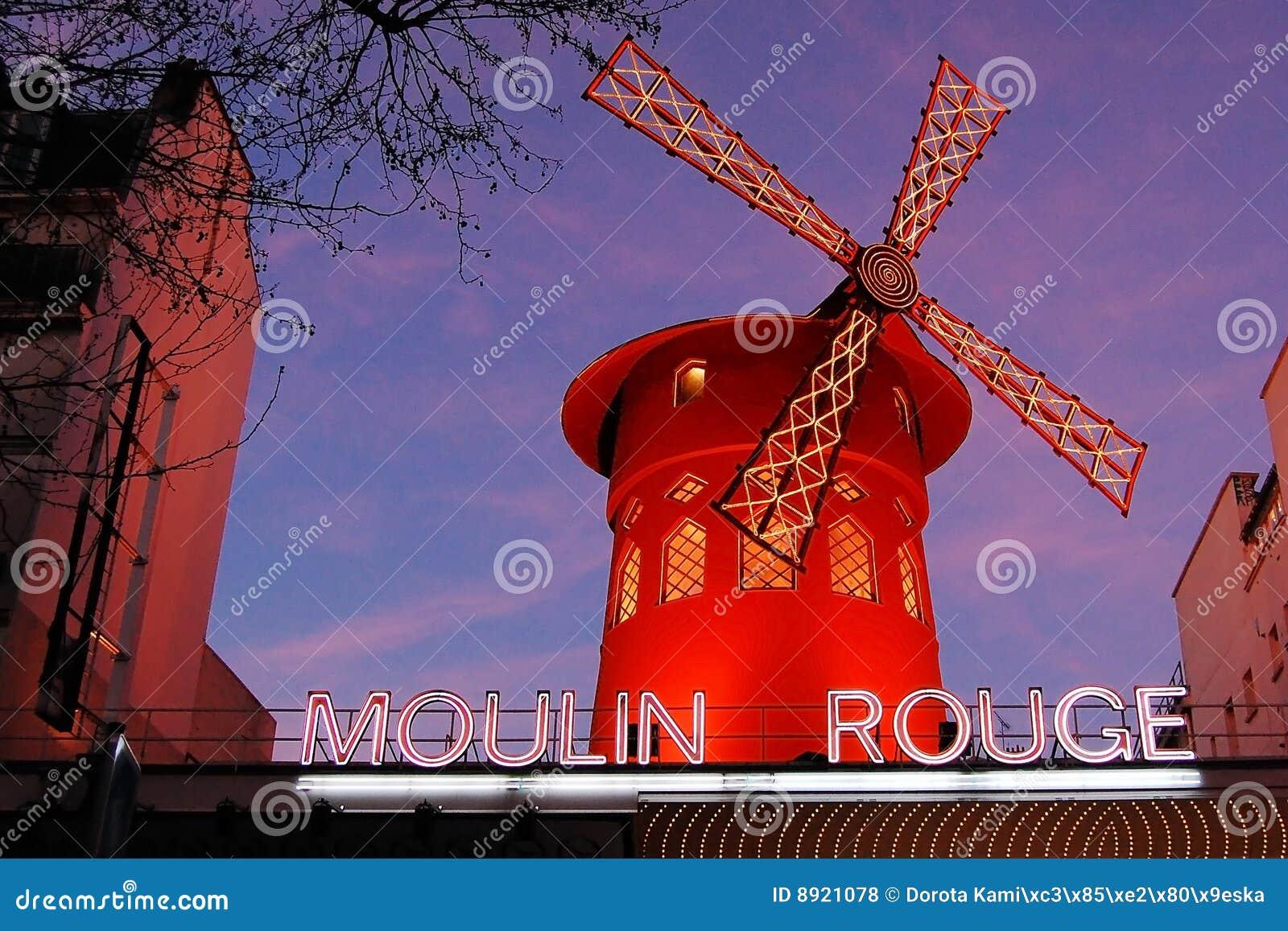 Fard à joues de Paris de moulin