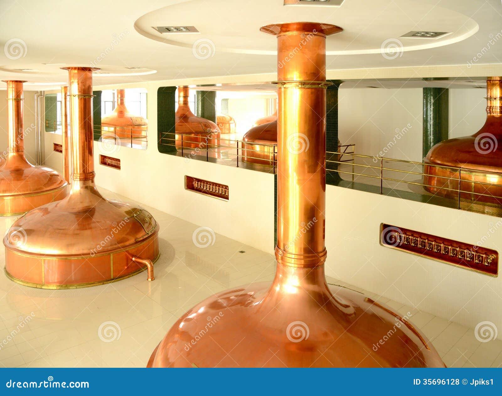 Fare i tini, fabbrica di birra della birra
