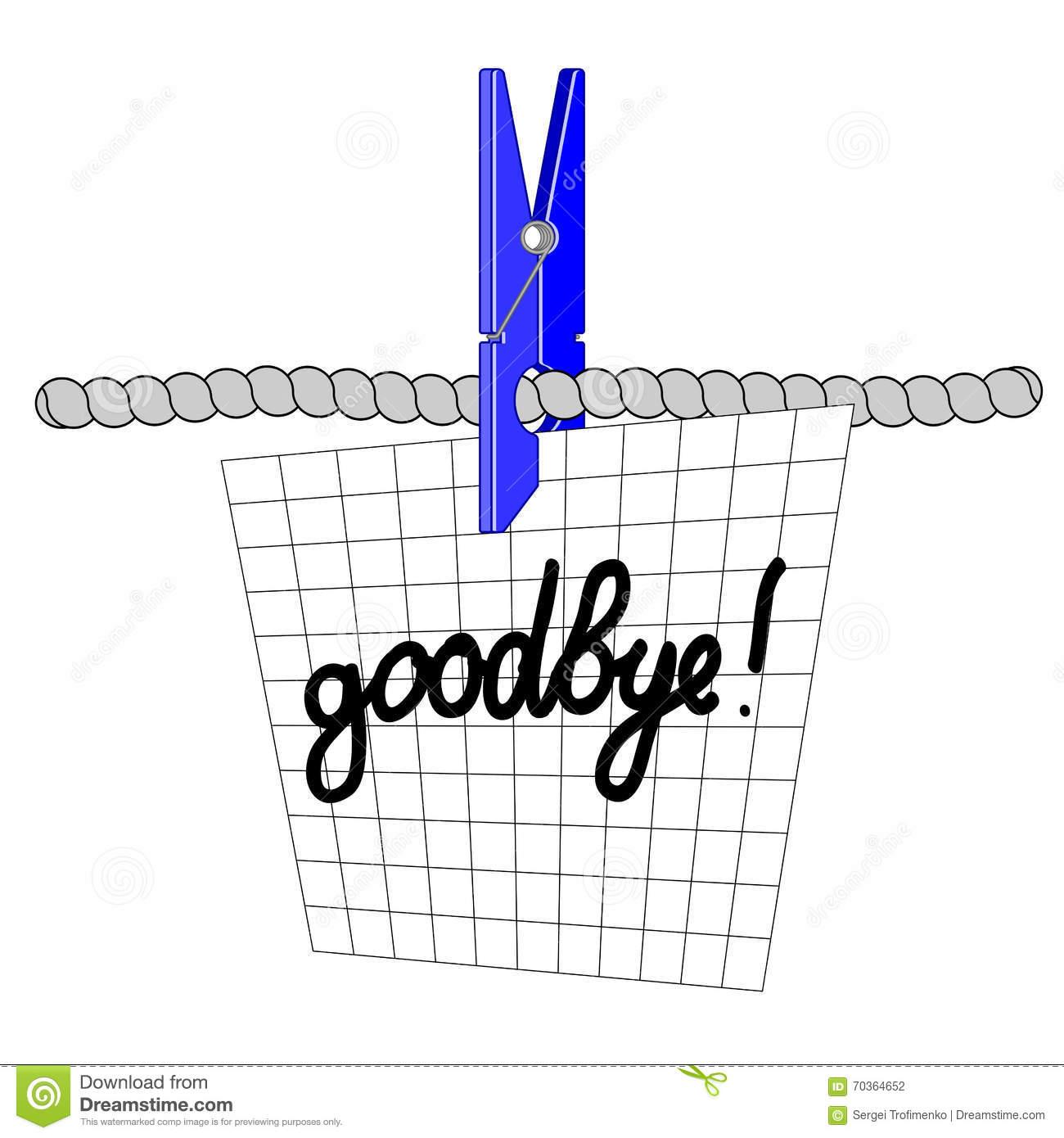 Farewell note vector eps10 stock vector illustration of picture farewell note vector eps10 thecheapjerseys Image collections