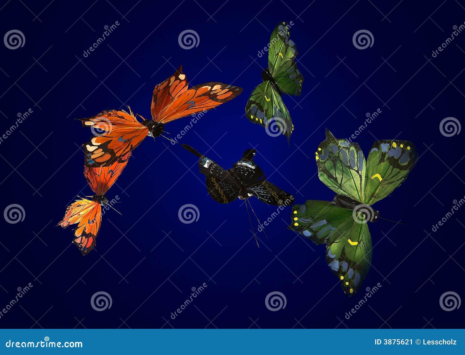 Farfalle di seta