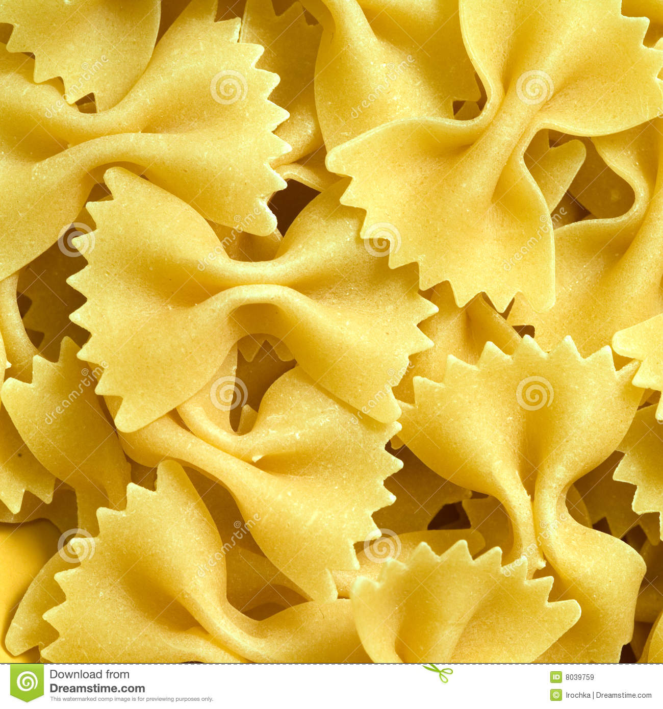 Farfalle Pasta Royalty Free Stock Images - Image: 8039759